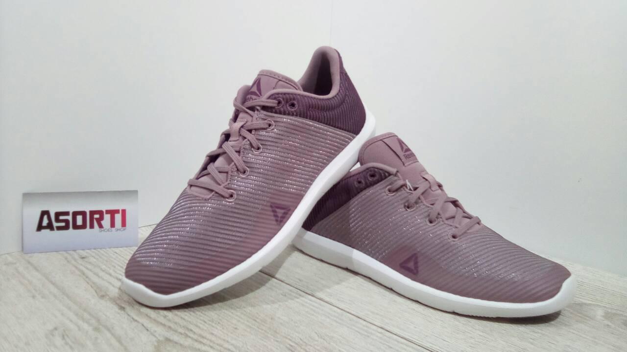 Жіночі кросівки Reebok Studio Basics фіолетові (BS5928) купити в ... c4864e8c82e1a