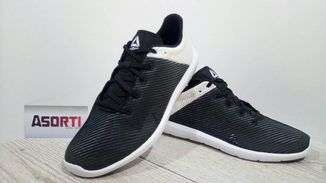 Жіночі кросівки Reebok Studio Basics (BS5927) чорно-білі купити в ... cbb22b7e398bb