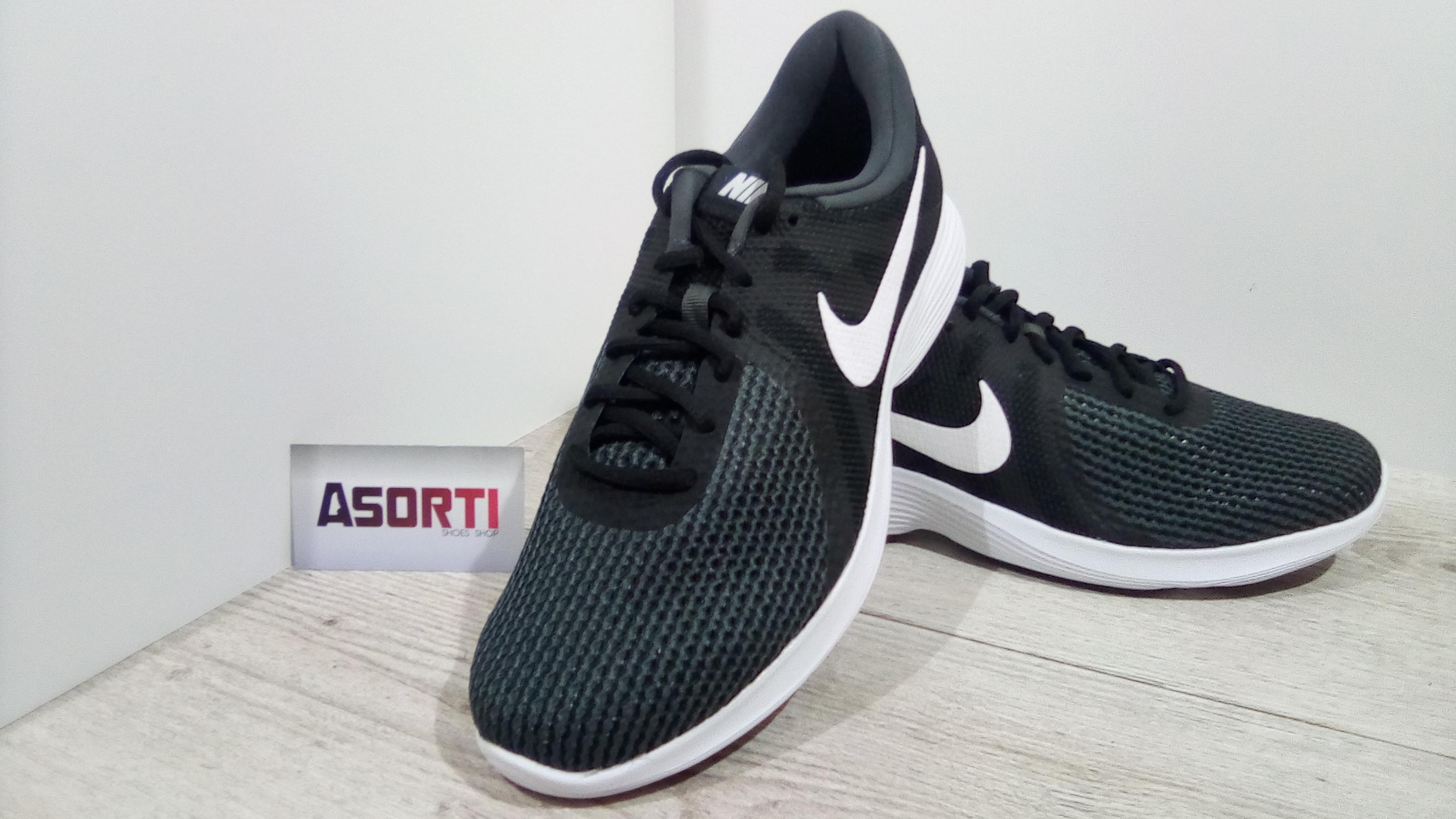 835f2665de3bf7 Чоловічі бігові кросівки Nike Revolution 4 EU (AJ3490-001) чорні ...
