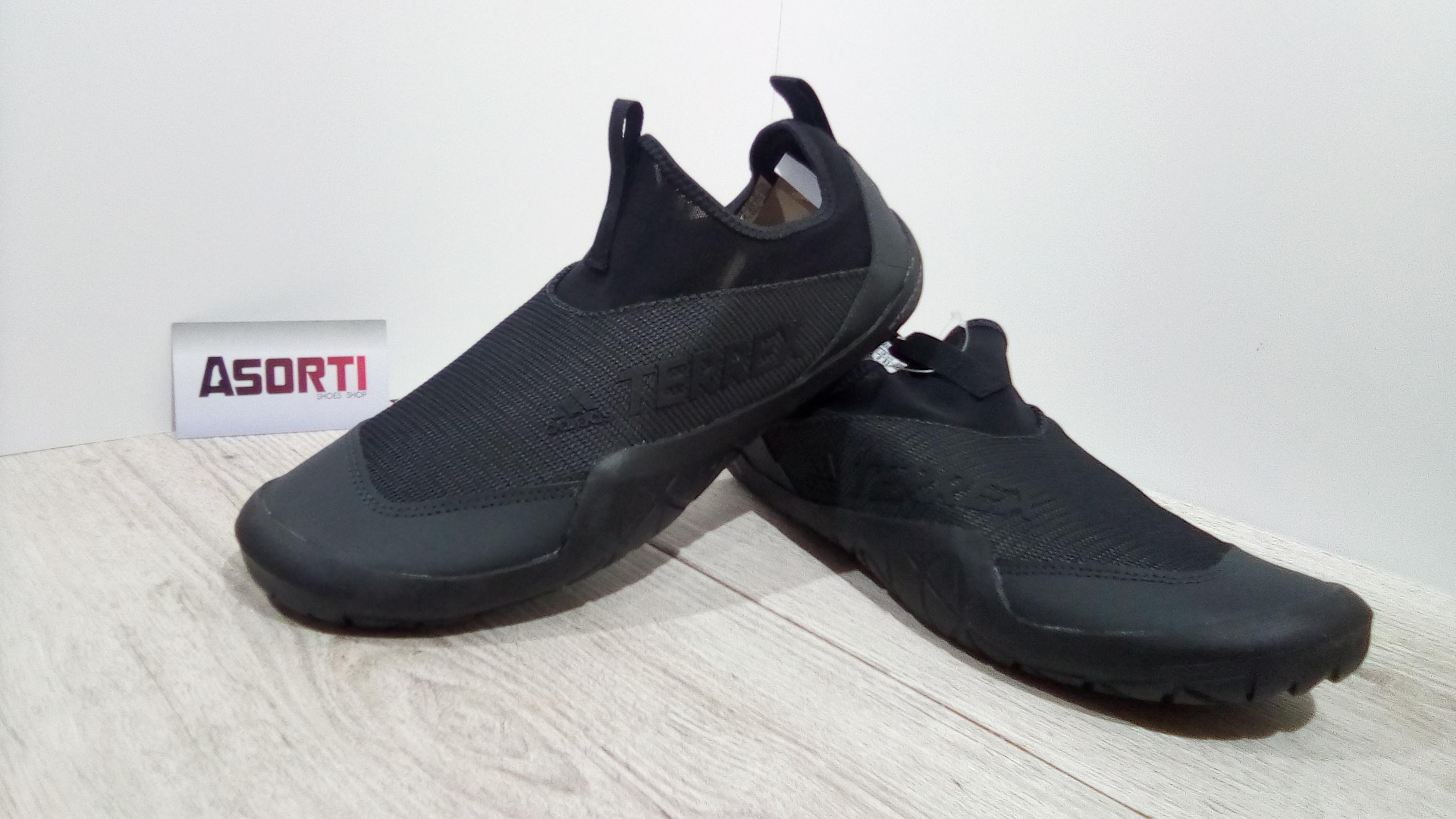 Мужские кроссовки-тапочки Adidas Terrex CC Jawpaw II (CM7531) черные