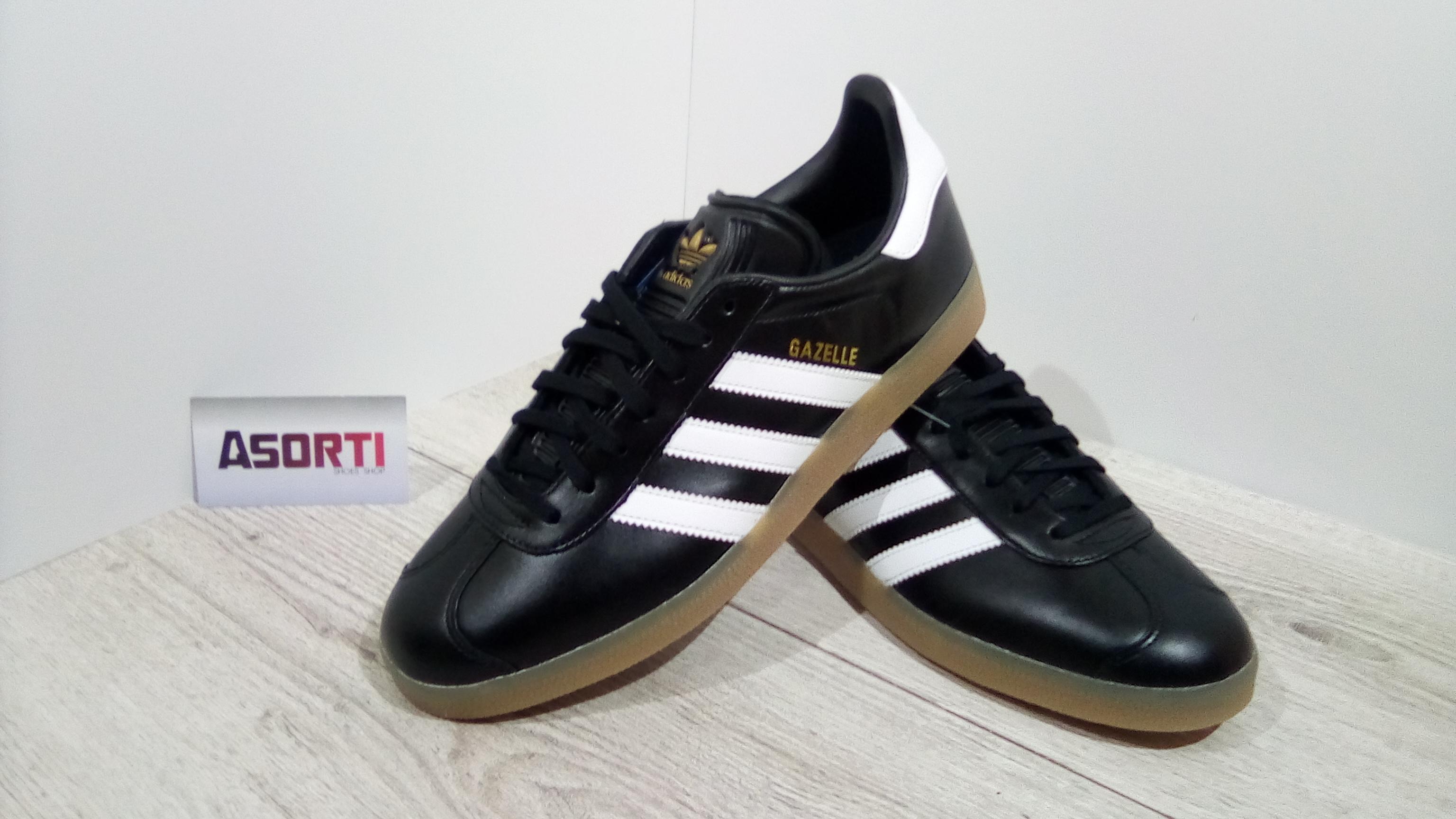 0733fb1e2bc8 Мужские кроссовки Adidas Originals Gazelle (BZ0026) черные