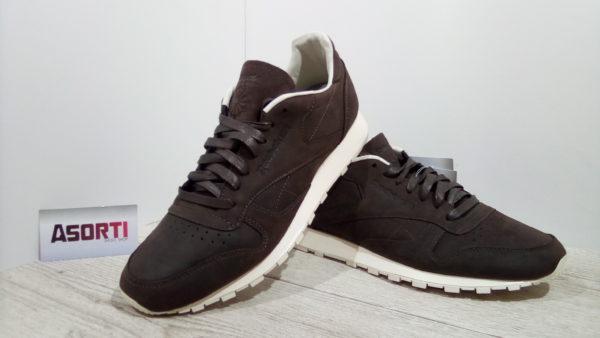 Мужские кроссовки Reebok Classic Leather Lux PW (BD2920) коричневые ... 1468b57028b