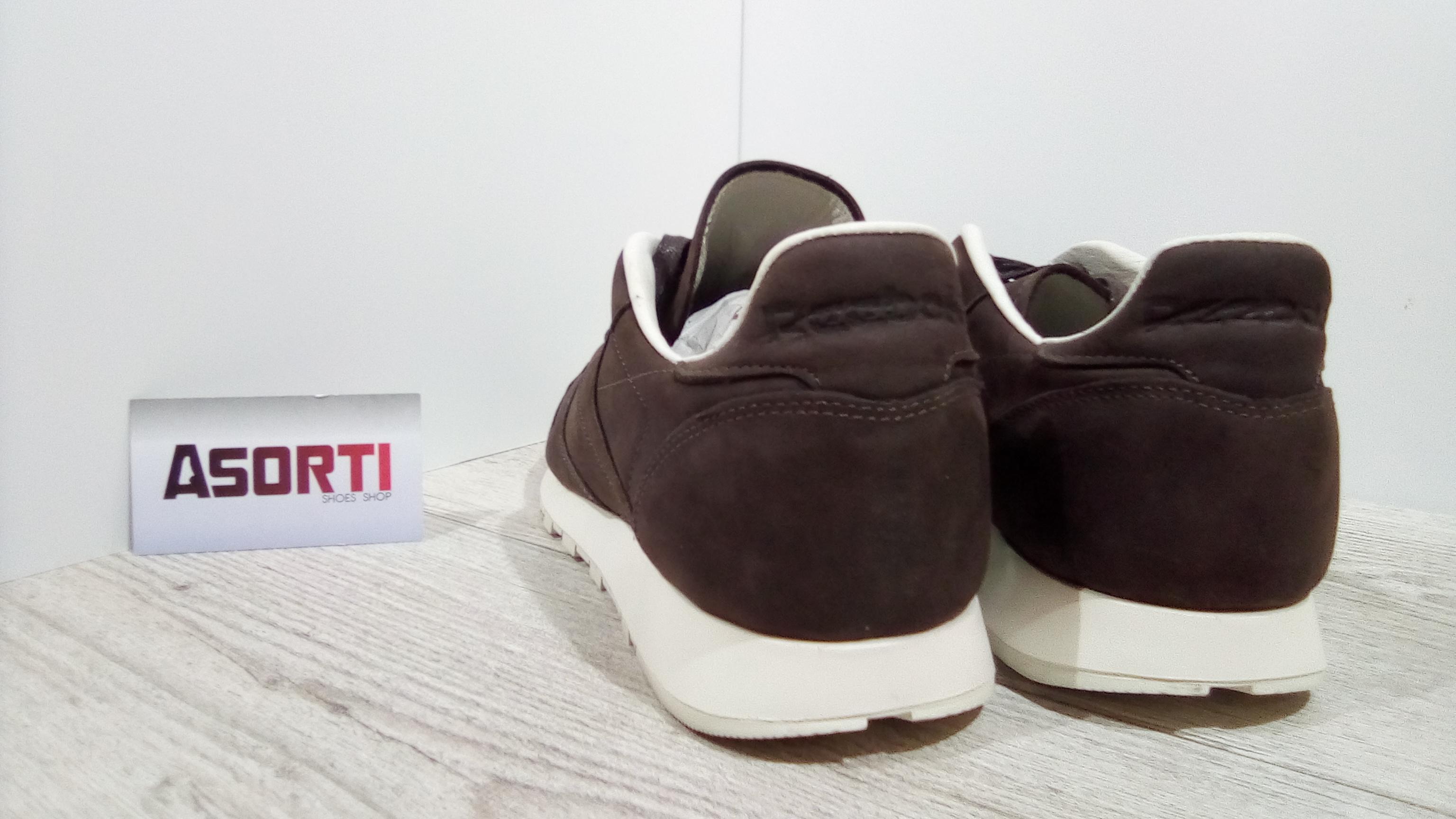 Мужские кроссовки Reebok Classic Leather Lux PW (BD2920) коричневые ... f8f0dcb820189