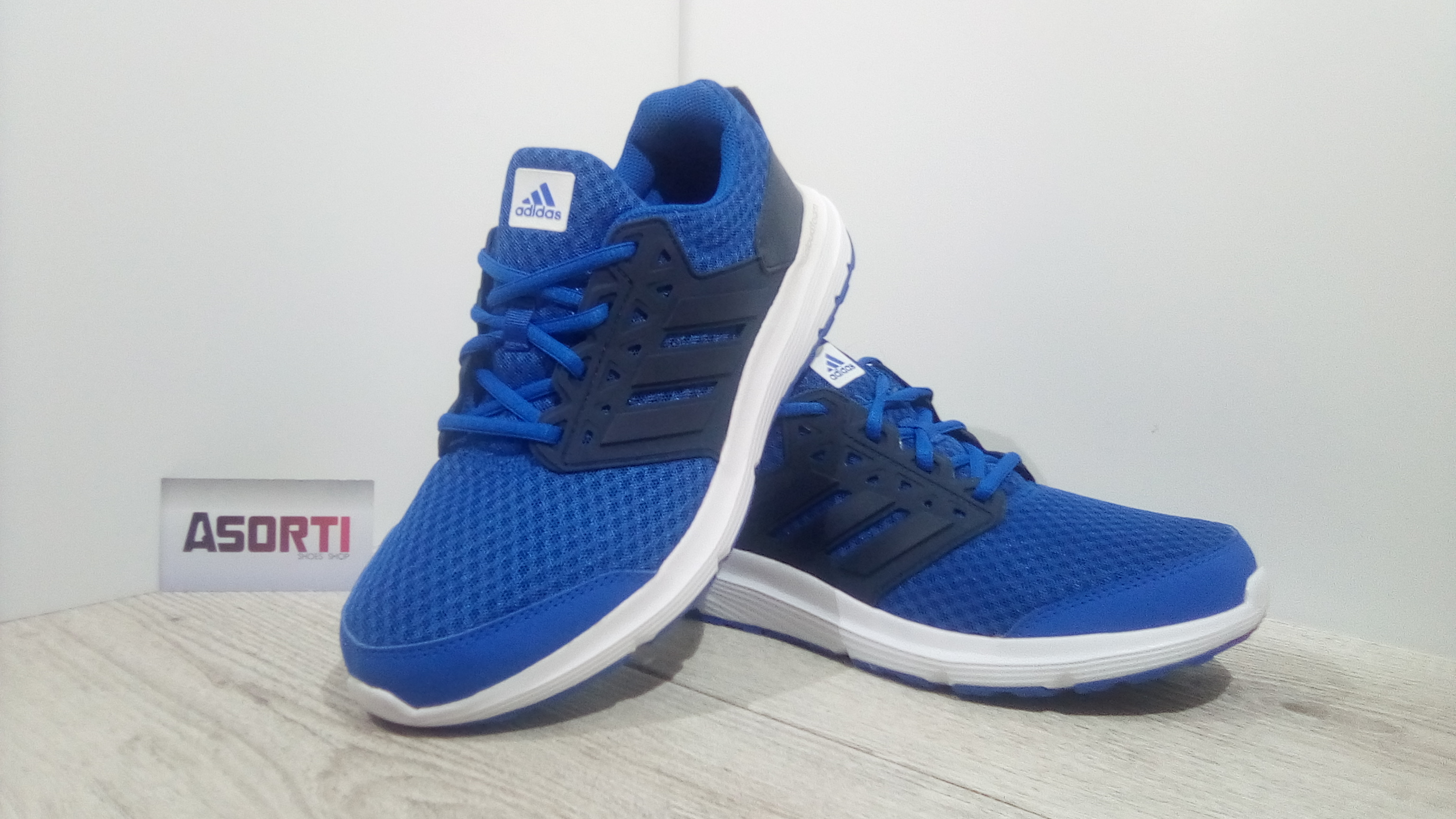 a461ec54 Мужские беговые кроссовки Adidas Galaxy 3 M (AQ6540) синие купить в ...