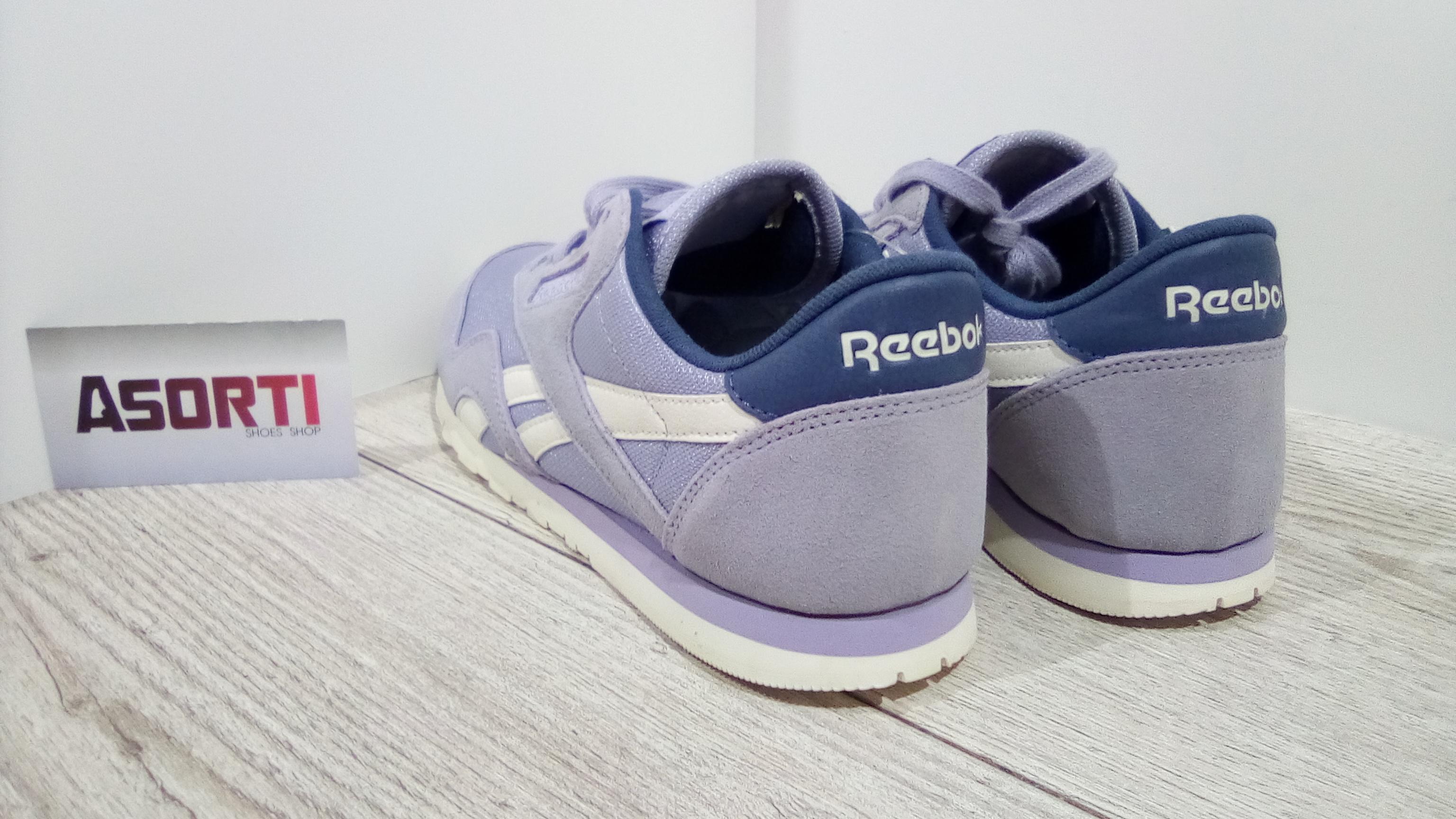 Женские кроссовки Reebok Classic Nylon фиолетовые (V68403) купить в ... fe50bb85bbc9f