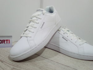 КРОССОВКИ REEBOK ROYAL COMPLETE CLEAN WHITE (CM9543)