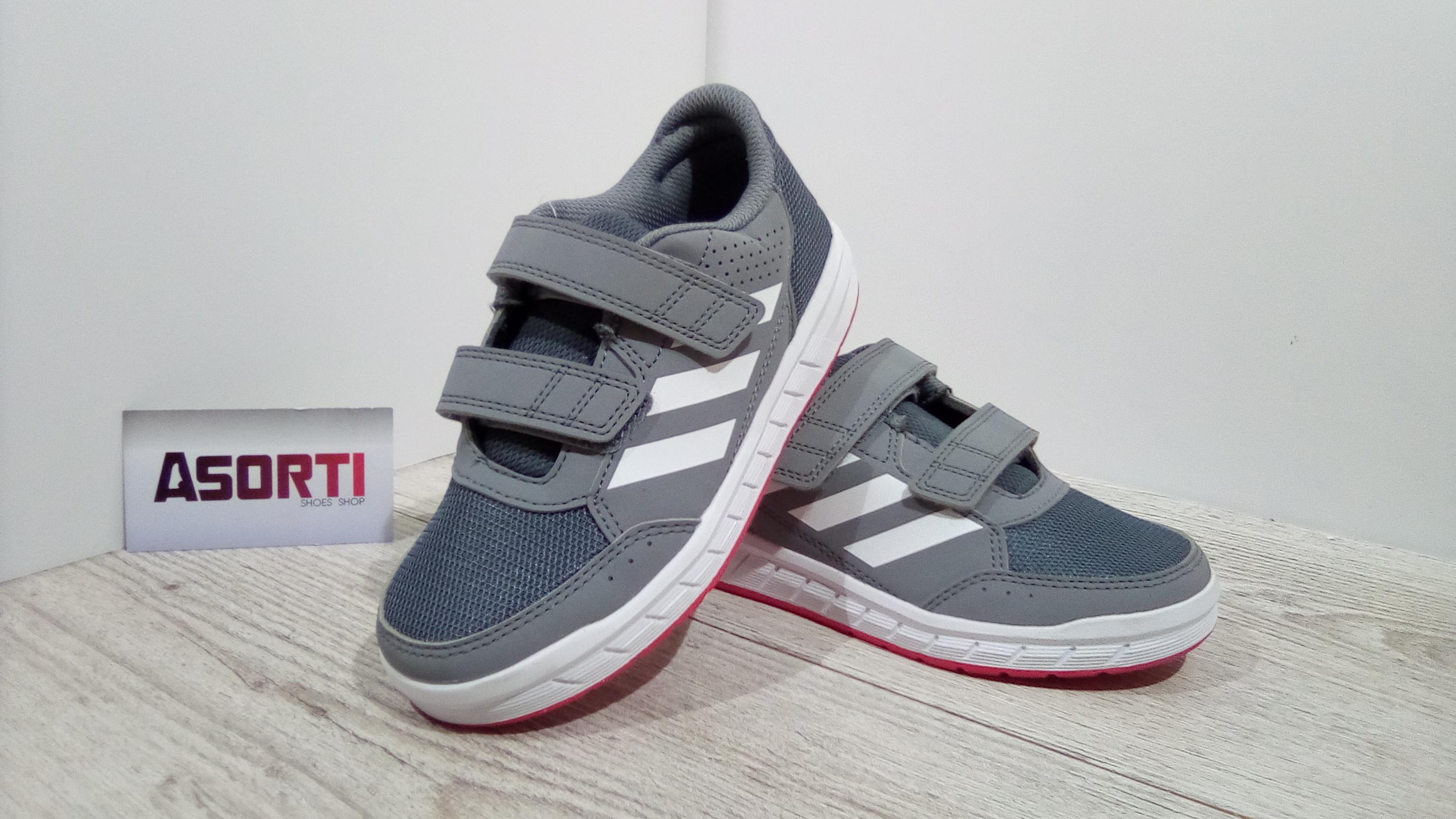 09d3e1ef Детские кроссовки Adidas AltaSport (BA9533) серые купить в Украине ...
