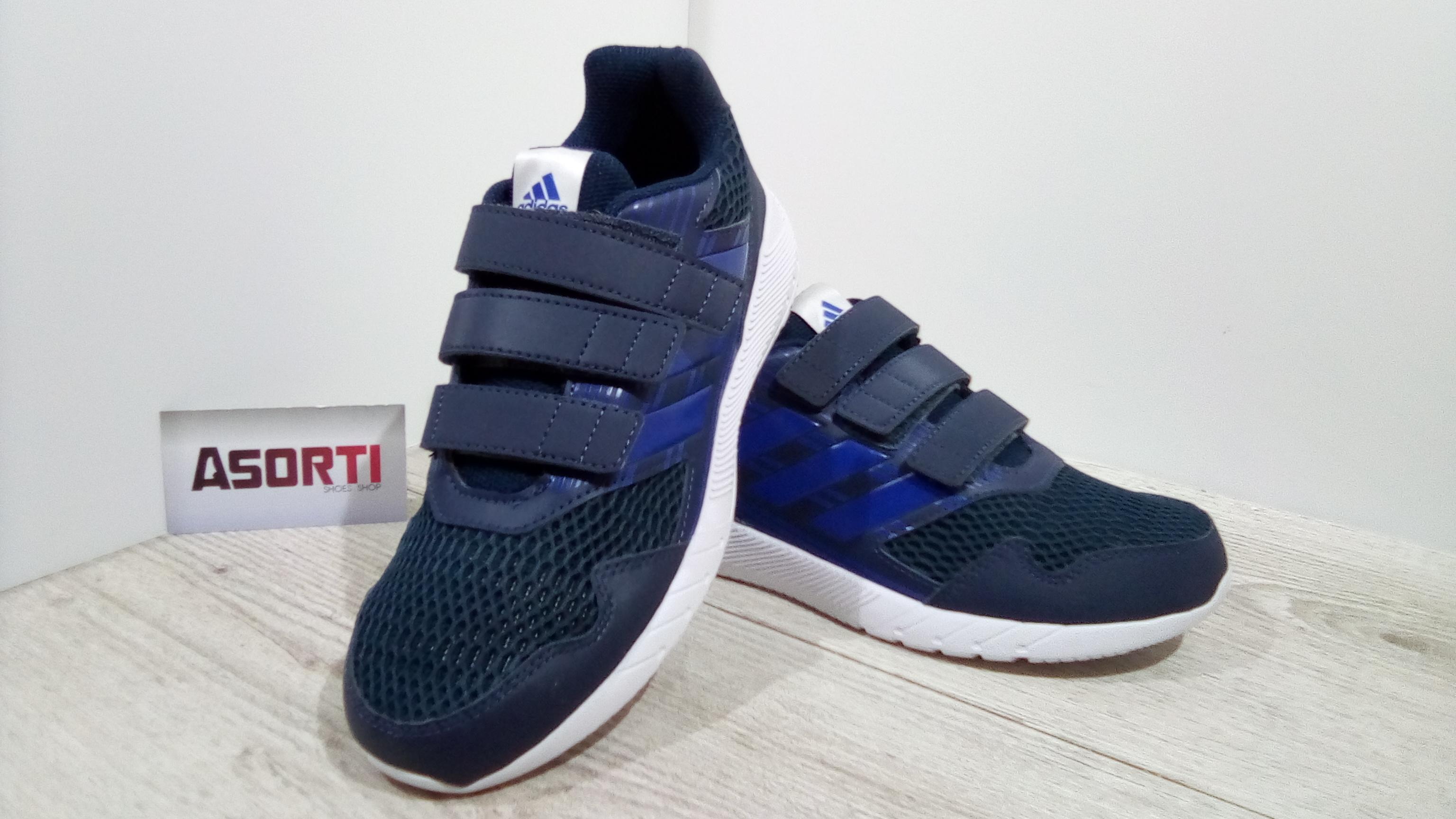 e993900e Детские кроссовки Adidas AltaRun (CQ2459) синие купить в Украине ...