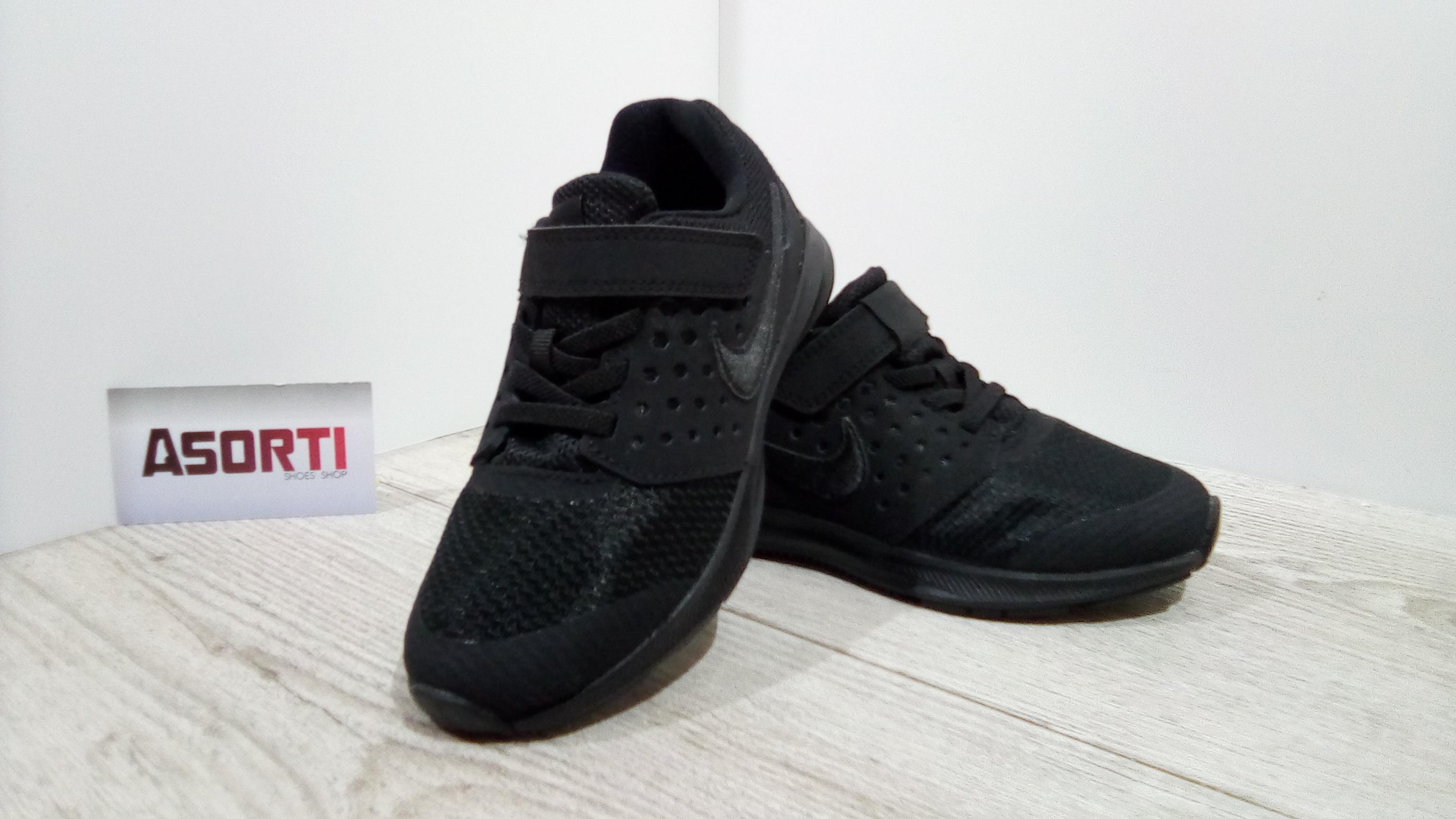 47bc8e27a2a806 Дитячі кросівки Nike Downshifter 7 PSV (869970-004) чорні купити в ...