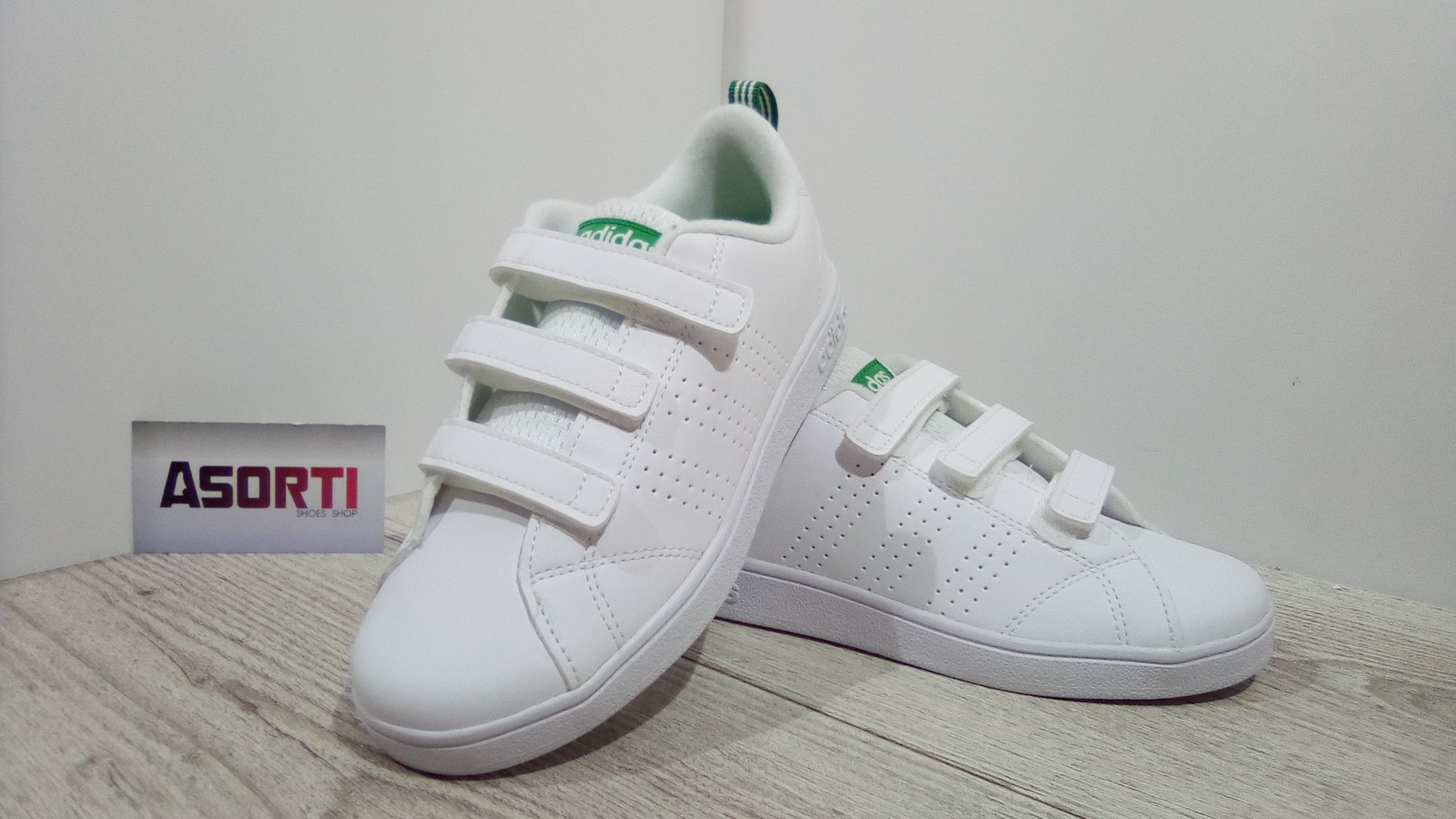 9c543d2f Детские кроссовки Adidas VS Advantage Clean (AW4880) белые купить в ...