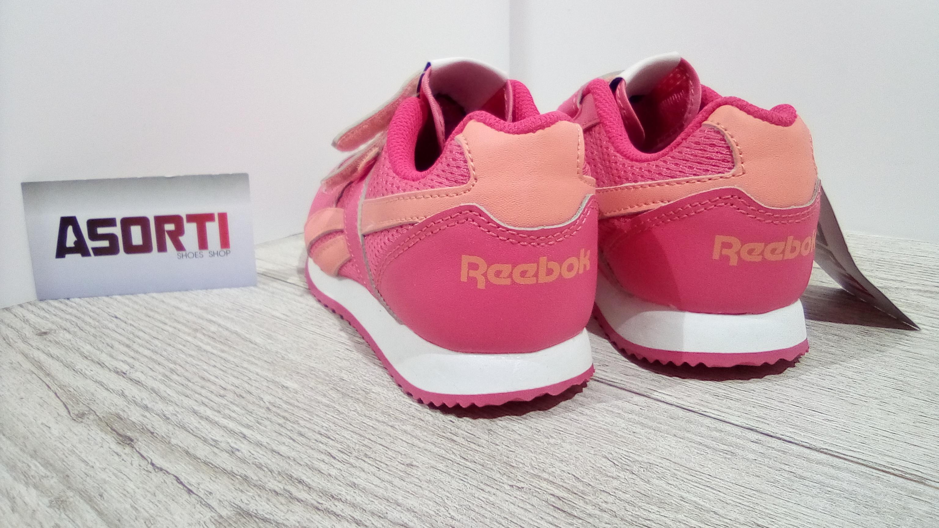 11372cdb Дитячі кросівки Reebok Royal Jogger (V47226) рожеві купити в Україні ...