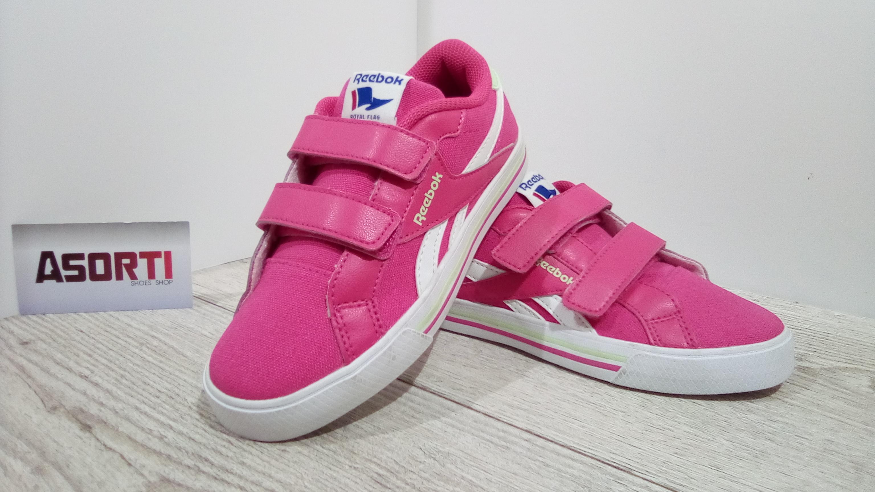 Детские кроссовки Reebok Royal Complete (V56115) розовые купить в ... 49e73b0b526e0