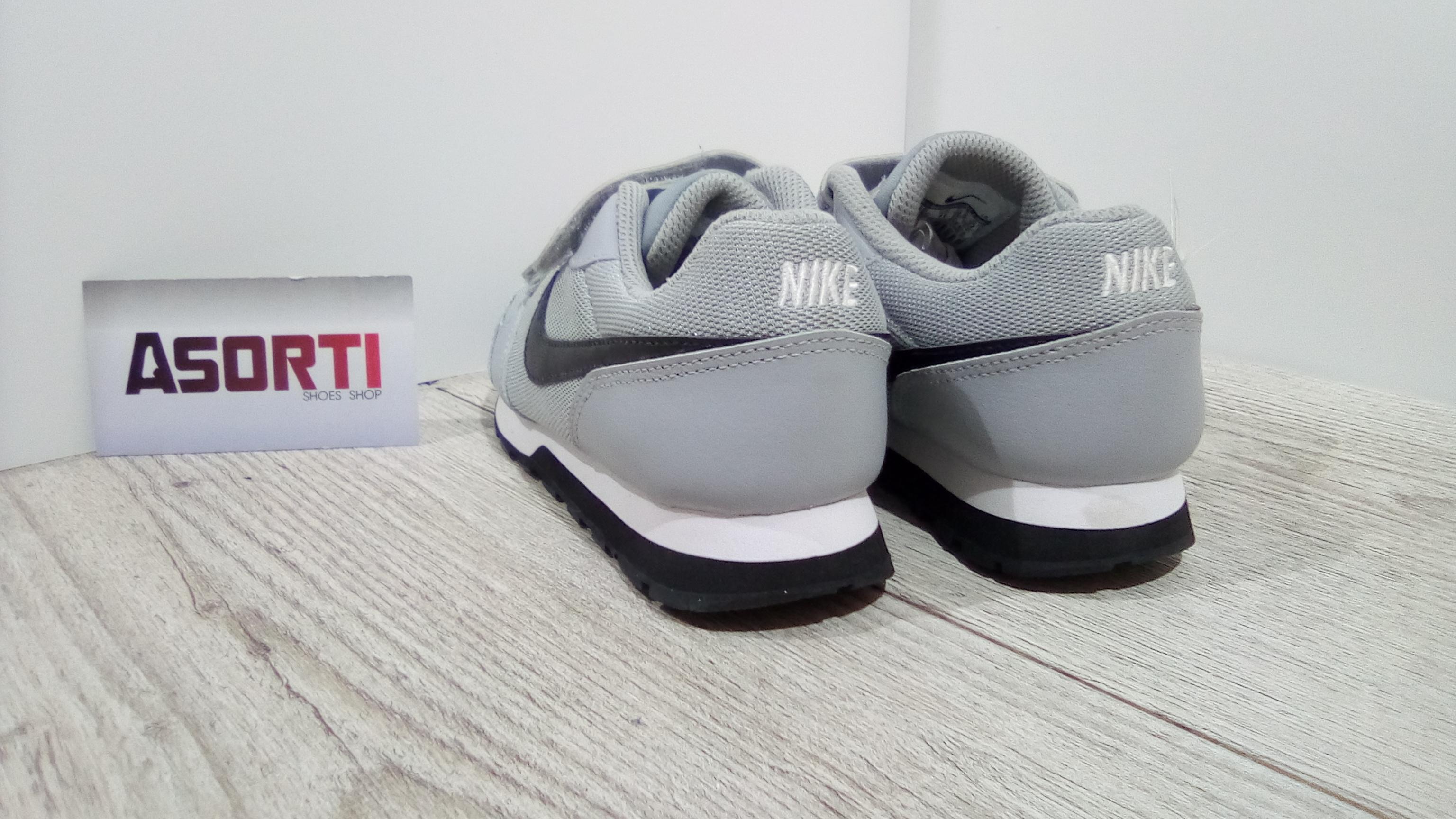ae9a53465e4bc4 Дитячі кросівки Nike MD Runner 2 PSV (807317-003) сірі купити в ...