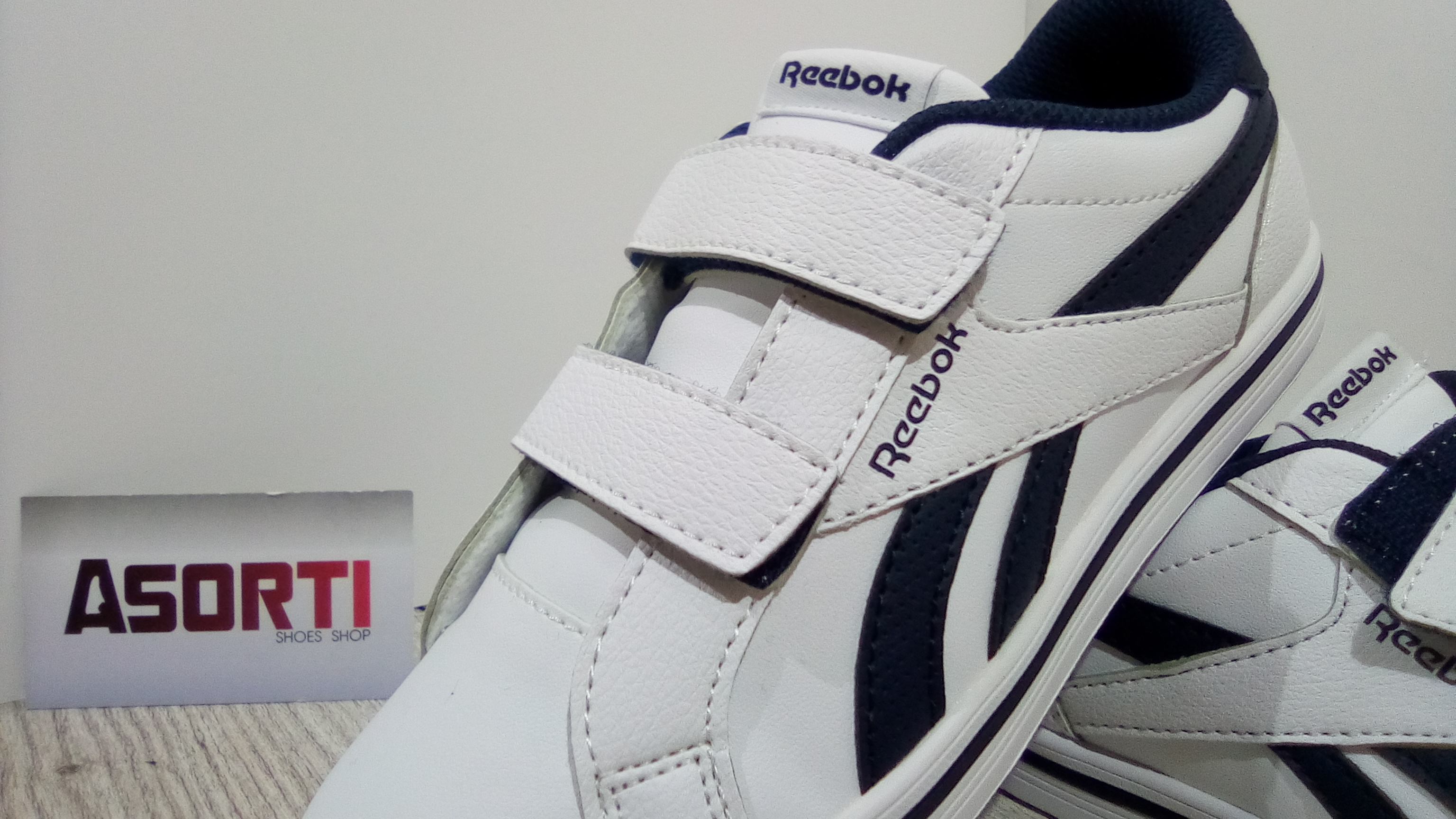 a52041e27b3a27 Детские кроссовки Reebok Royal COMP 2L ALT (CN1702) белые/черные ...