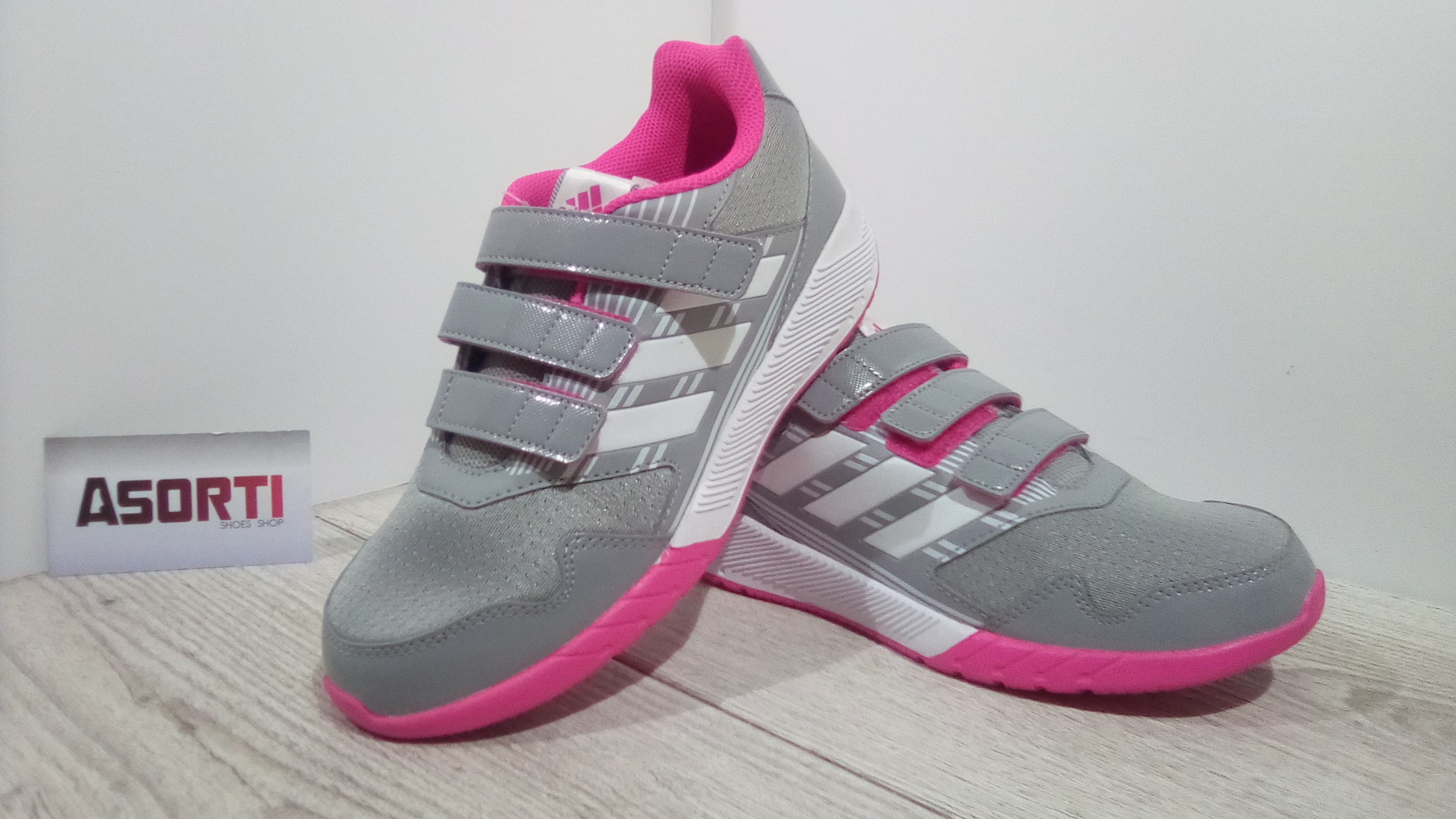 Дитячі кросівки Adidas Performance AltaRun (BA7917) сірі купити в ... 6bf1c8d3e4f65