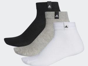 НОСКИ ADIDAS THIN ANKLE SOCKS 3 PAIRS (AA2485)