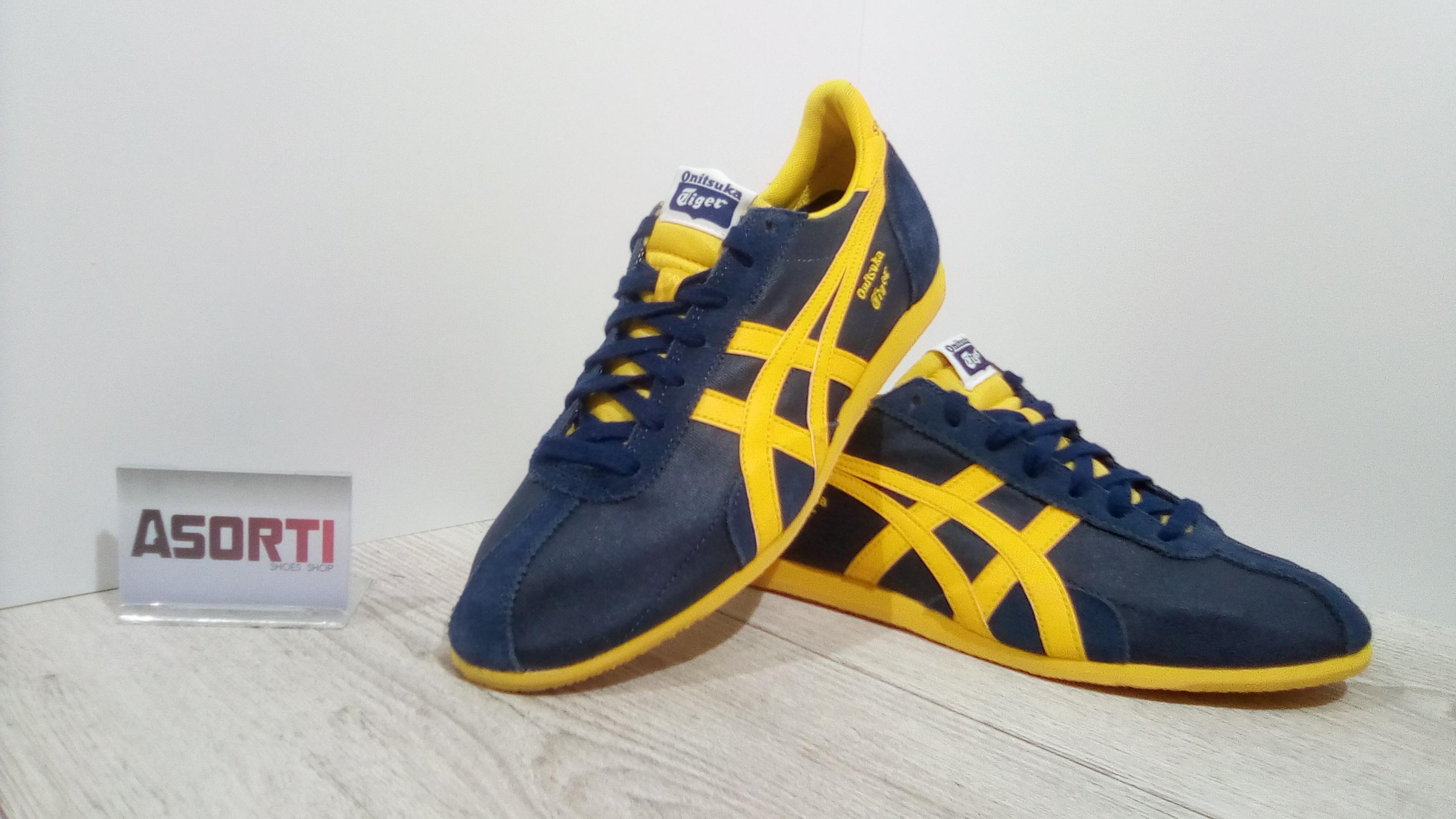 sports shoes 20b38 60399 ЧОЛОВІЧІ КРОСІВКИ ASICS ONITSUKA TIGER RUNSPARK (D3U1N) ТЕМНО-СИНІ
