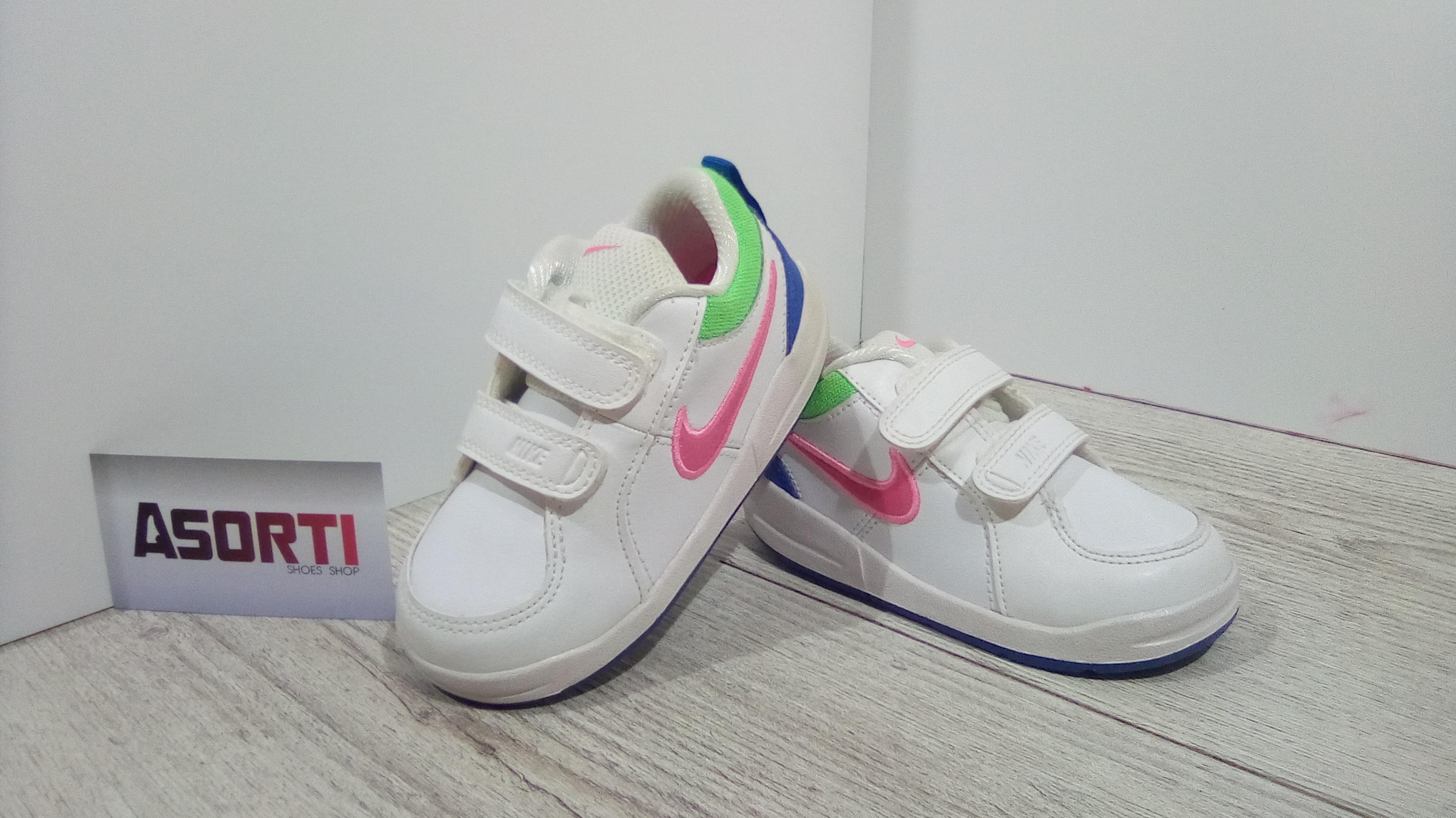 4d02c2bf Детские кроссовки Nike Pico 4 TDV (454478-121) белые купить в ...
