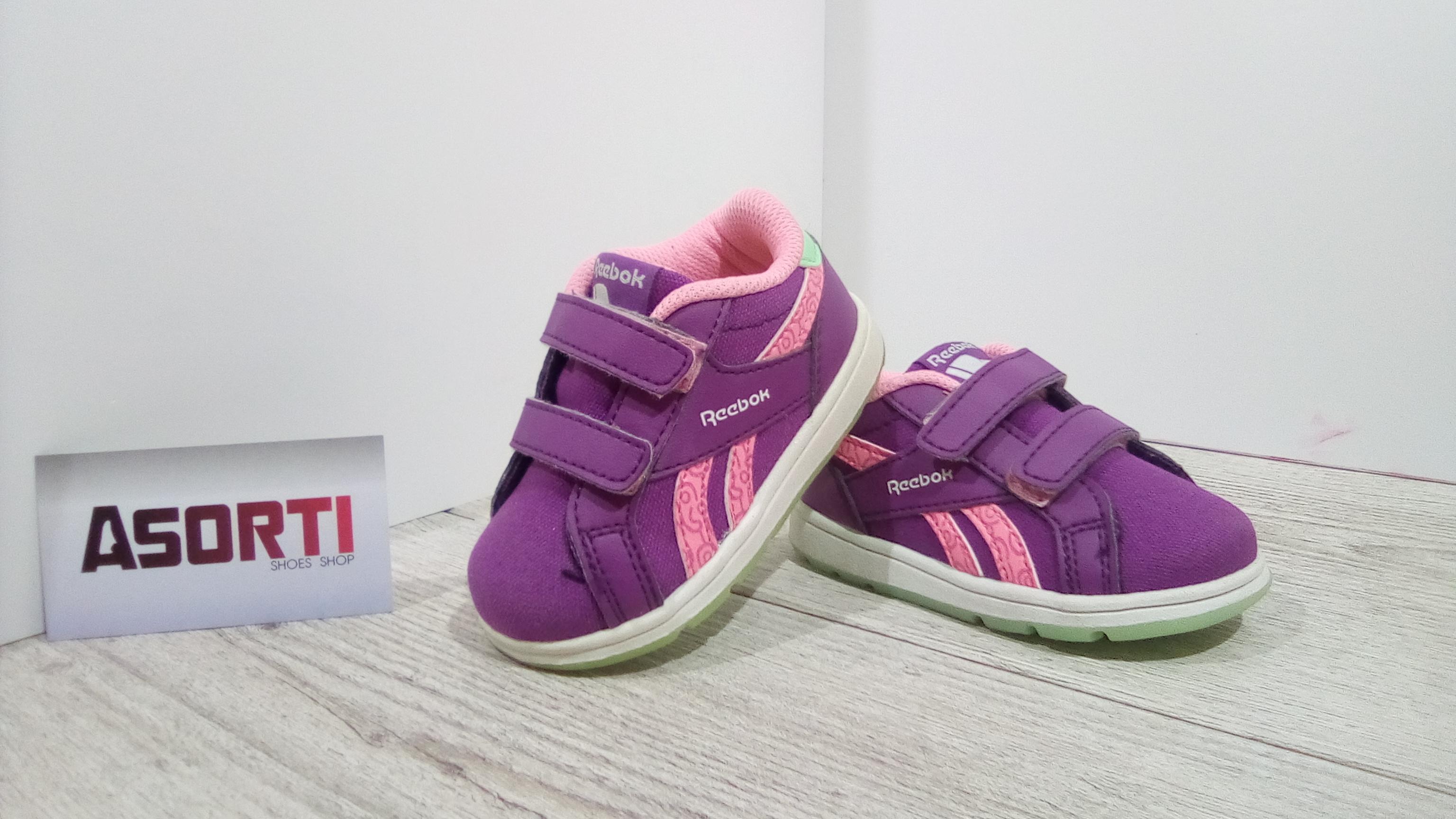 Детские кроссовки Reebok Royal Complete L2V CVS (BD2498) фиолетовые ... 6f3c8fbada4ad