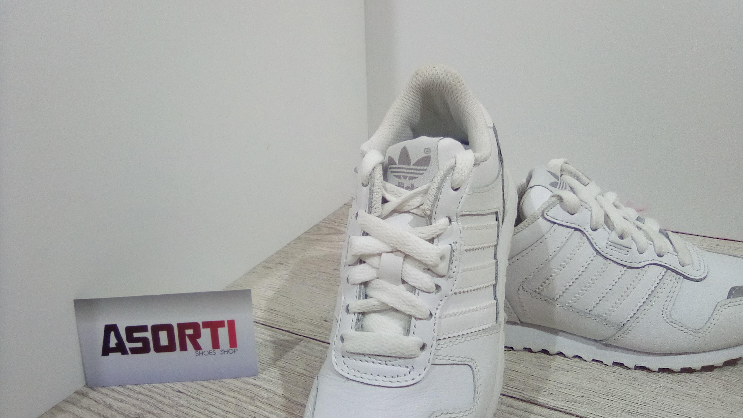 672c1a00 Дитячі кросівки Adidas ZX 700 K (Q23979) білі купити в Україні ...