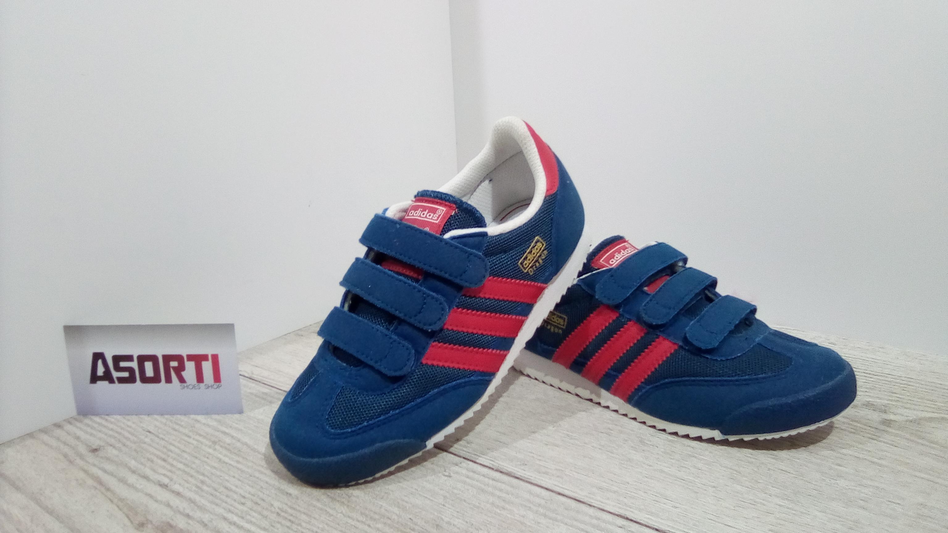 274f1c33 Детские кроссовки Adidas Originals Dragon CF C (S74832) синие купить ...