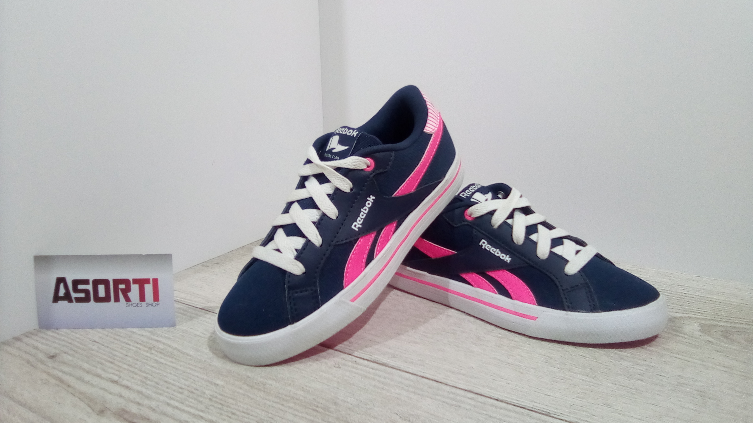 5bab6248 Дитячі кросівки Reebok Royal COMP LOW CVS (AQ9391) сині купити в ...