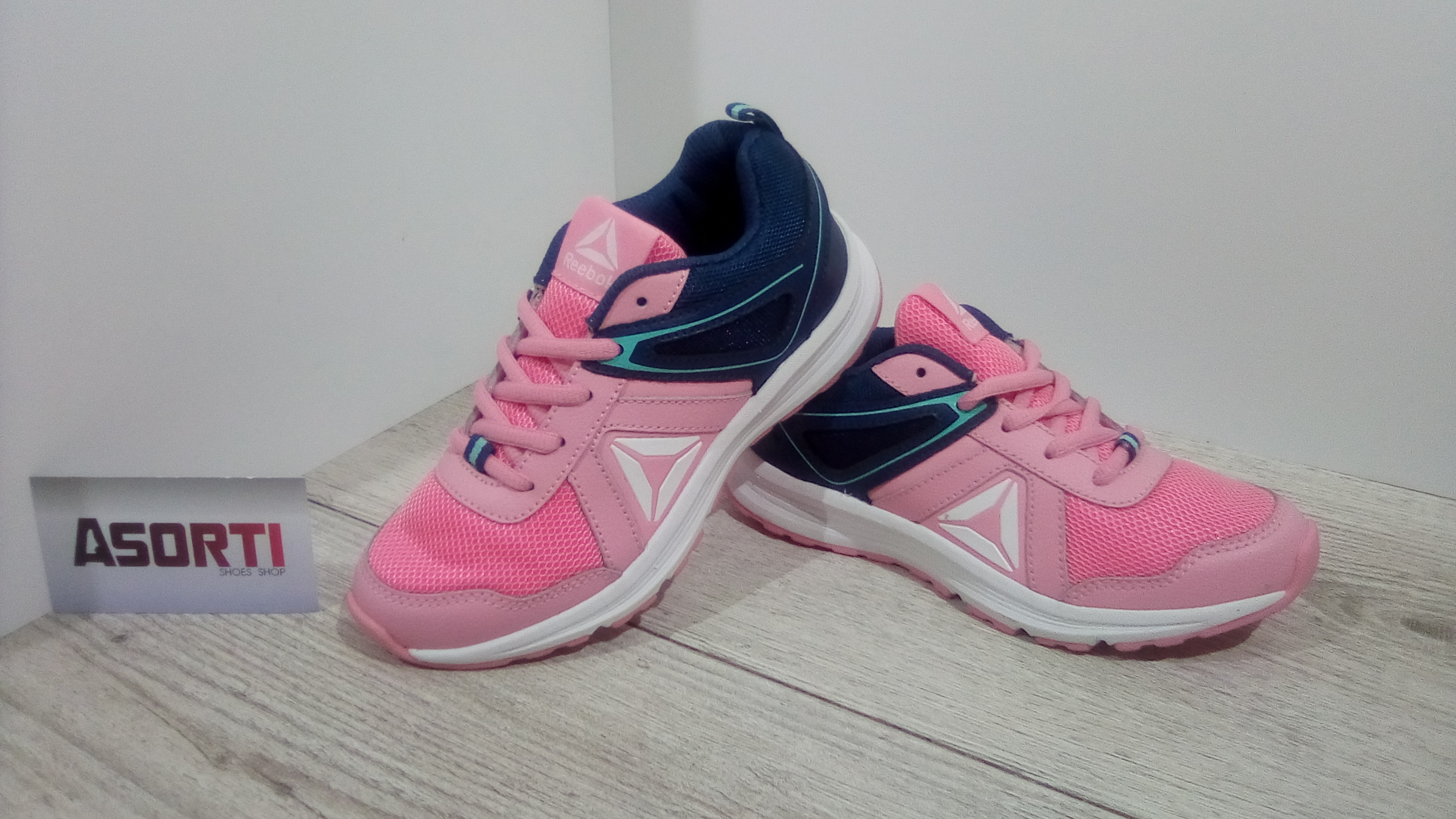 c9e1685b Детские кроссовки Reebok Almotio 3.0 (CN0893) синие/розовые купить в ...