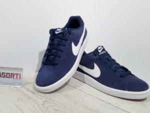 КРОССОВКИ NIKE COURT ROYALE SUEDE (819802-010)