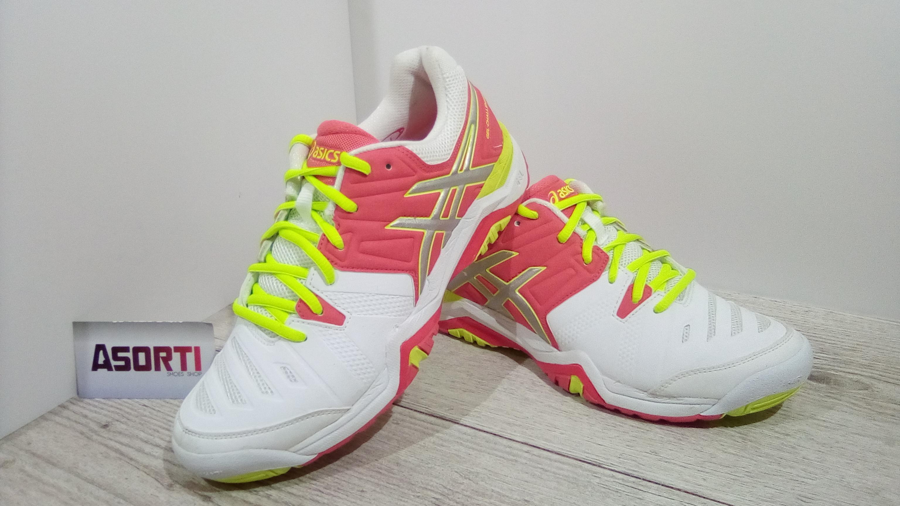 Женские кроссовки Asics Gel-Challenger 10 (E554Y) белые купить в ... 21b3f1cdd0451