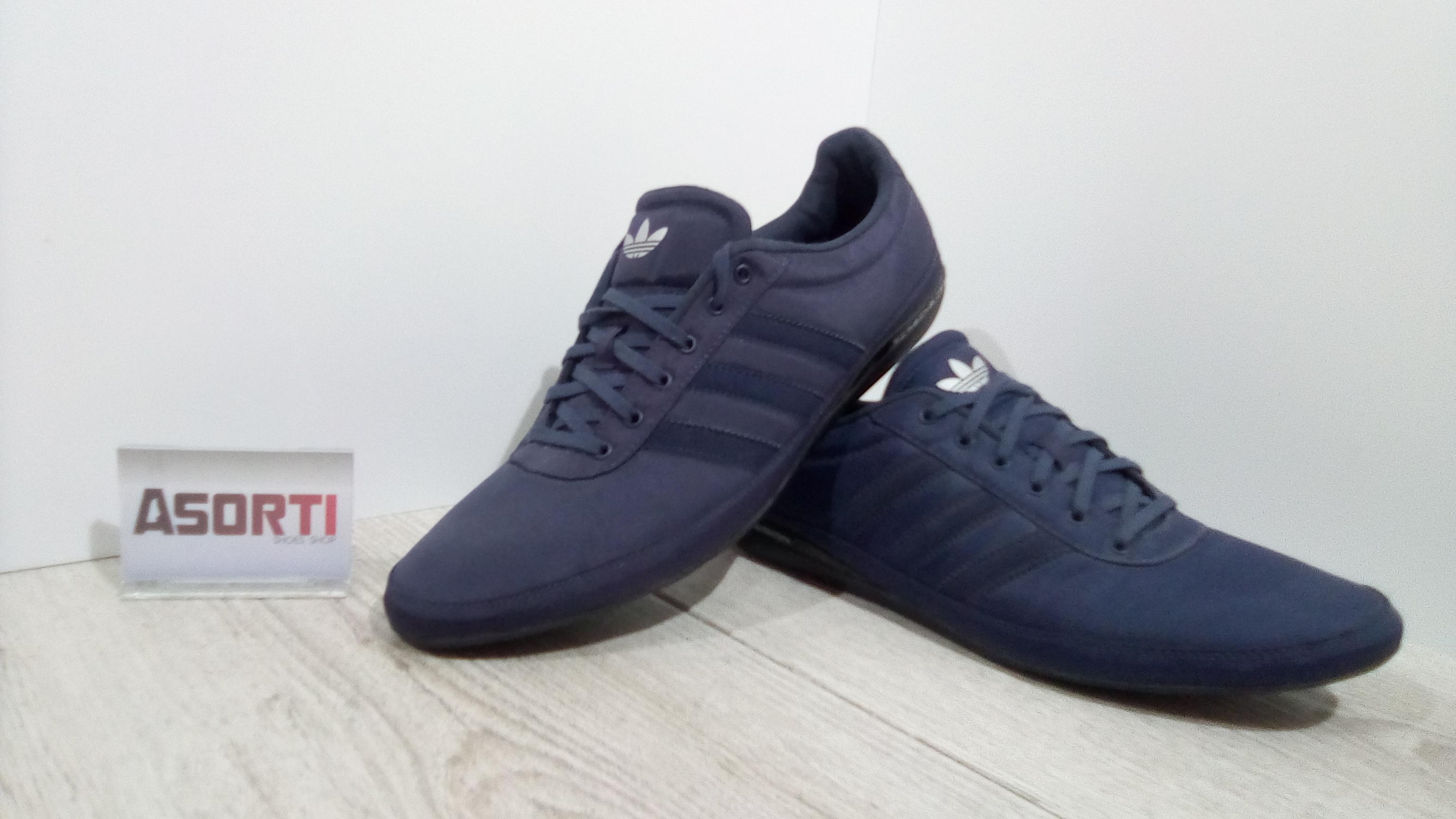 25a8e855fab5 Мужские кроссовки Adidas Porsche Design S3 (G62107) синие купить в ...