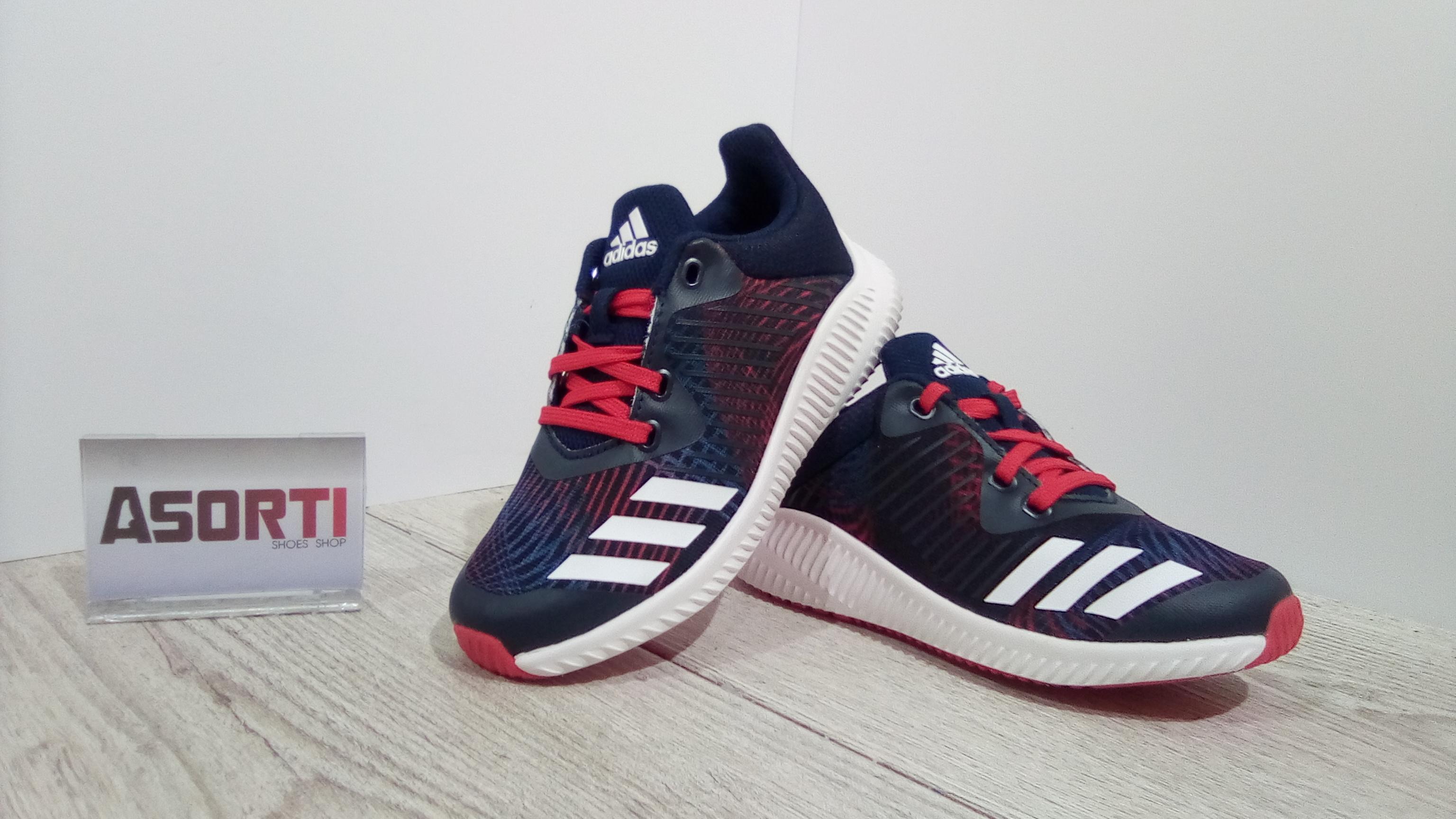 0aecfe0c9 Детские кроссовки для бега Adidas Fortarun K (CP9994) темно-синие ...