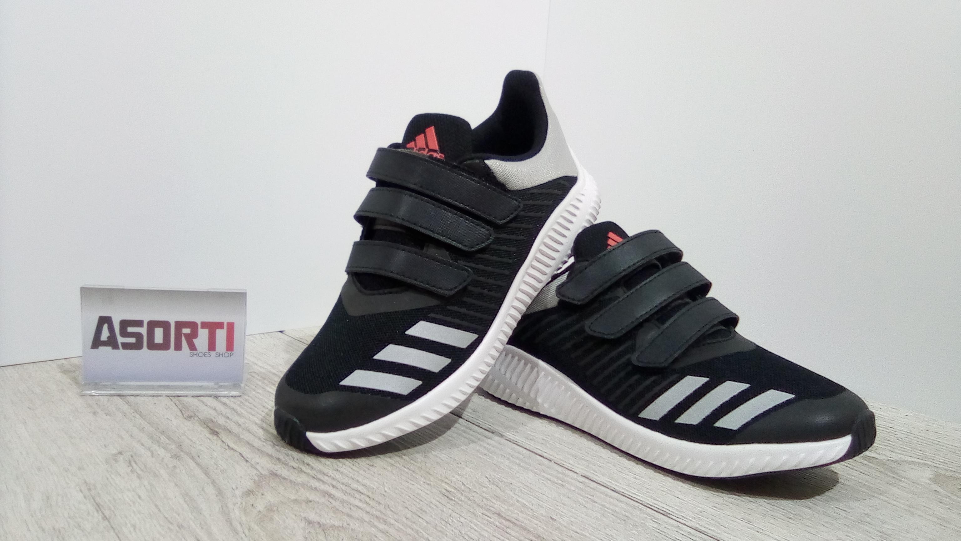 9ee16dc2 Дитячі кросівки для бігу Adidas Fortarun Kids (BA9478) чорні купити ...