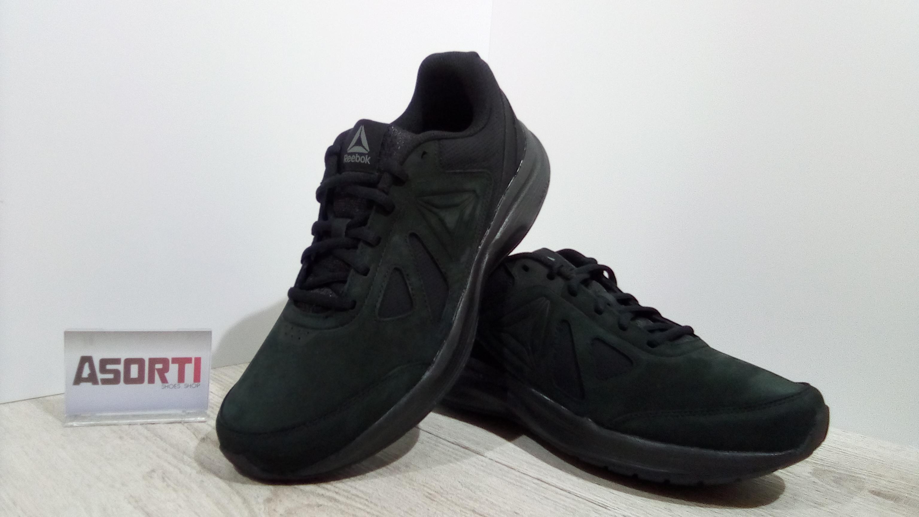 b2a75b65 Мужские кроссовки для ходьбы Reebok Walk Ultra 6 DMX Max RG (CN0951) черные