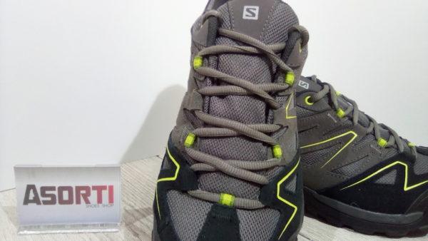 Мужские треккинговые кроссовки Salomon Vespera CS (393248) серые