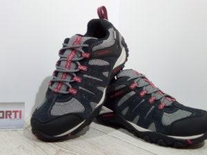 Мужские кроссовки Merrell Mid Vent Waterproof (J289416C) черные/серые