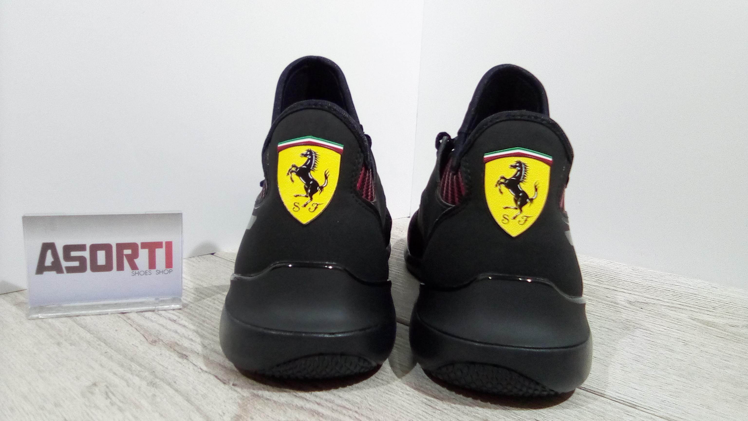 Чоловічі кросівки Puma Ferrari Evo Cat Mace (306228-01) чорні купити ... 706c97ce7d096
