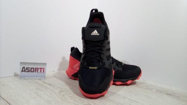 Мужские кроссовки для бега Adidas Kanadia 7 TR GTX (BB5428) черные/красные