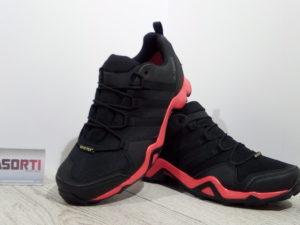 Мужские спортивные кроссовки Adidas Terrex AX2R (CP9680) черные/красные