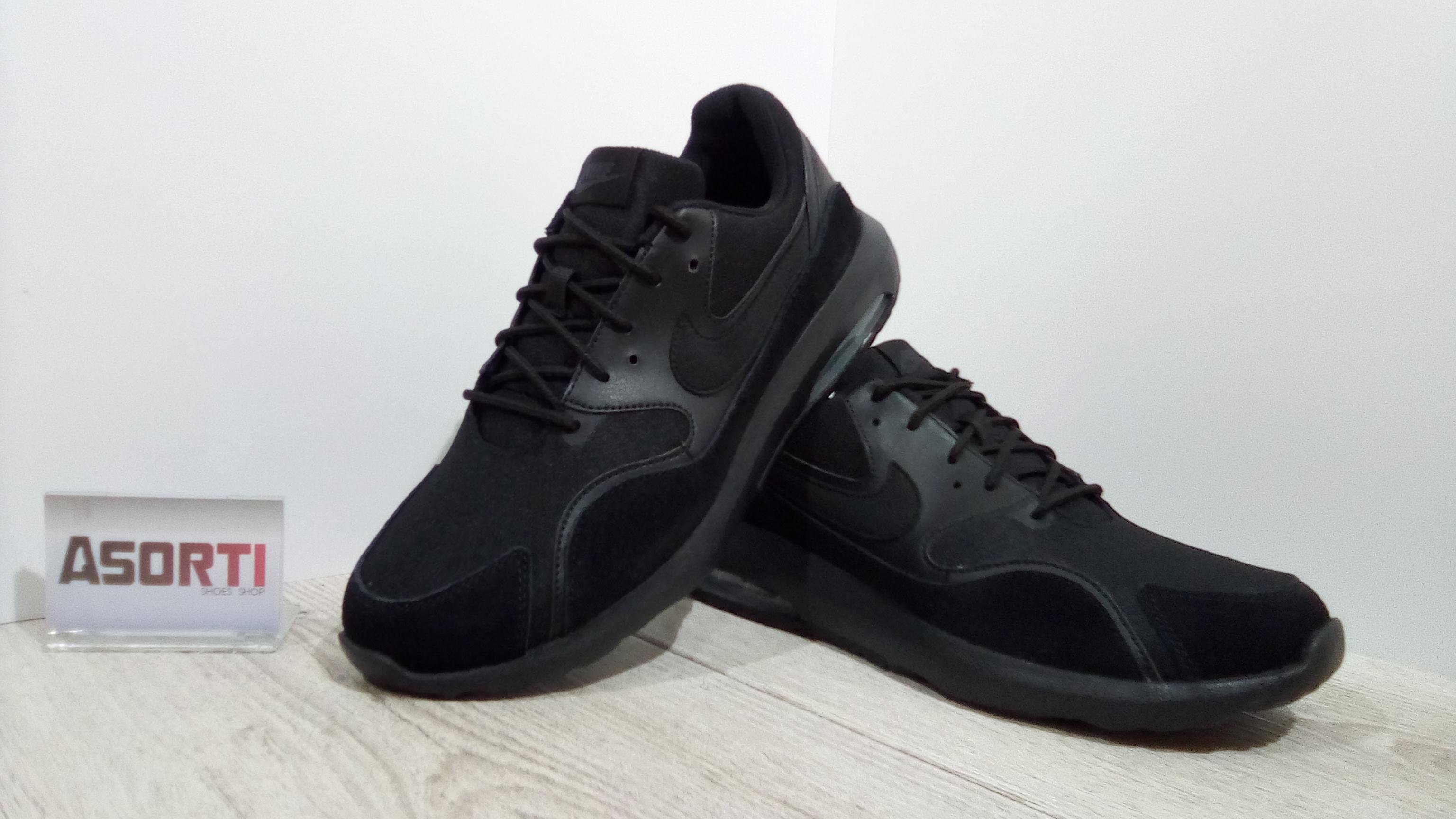 2e8f93b1e23199 Мужские кроссовки Nike Air Max Nostalgic (916781-006) черные купить ...