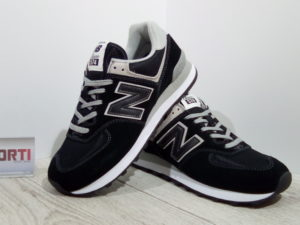 Мужские кроссовки New Balance (ML574EGK) черные