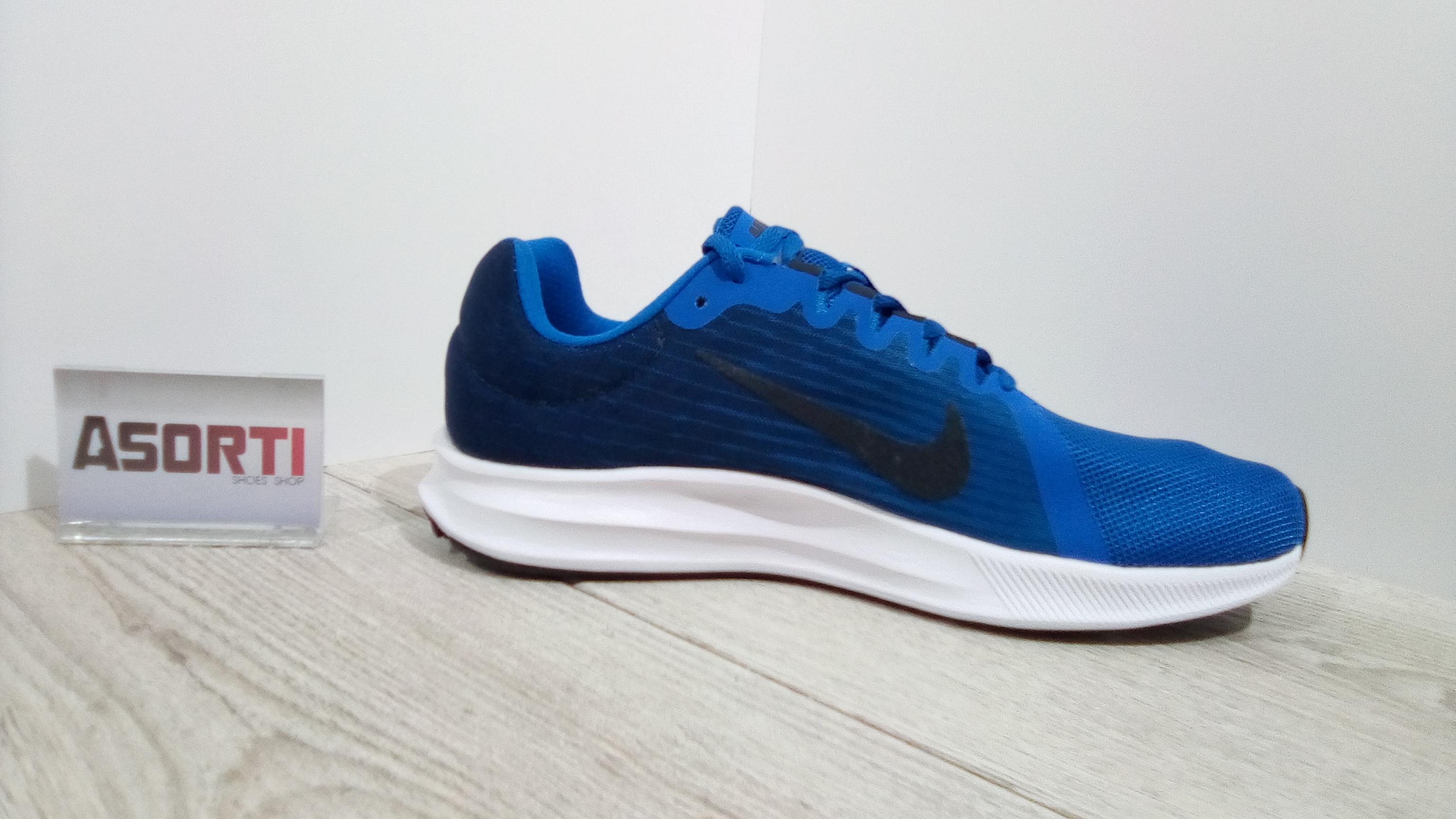 83d0c464 Чоловічі бігові кросівки Nike Downshifter 8 (908984-401) сині купити ...