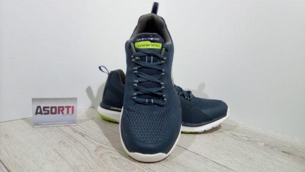 Мужские спортивные кроссовки Skechers Quick Shift Training (SN51543) синие