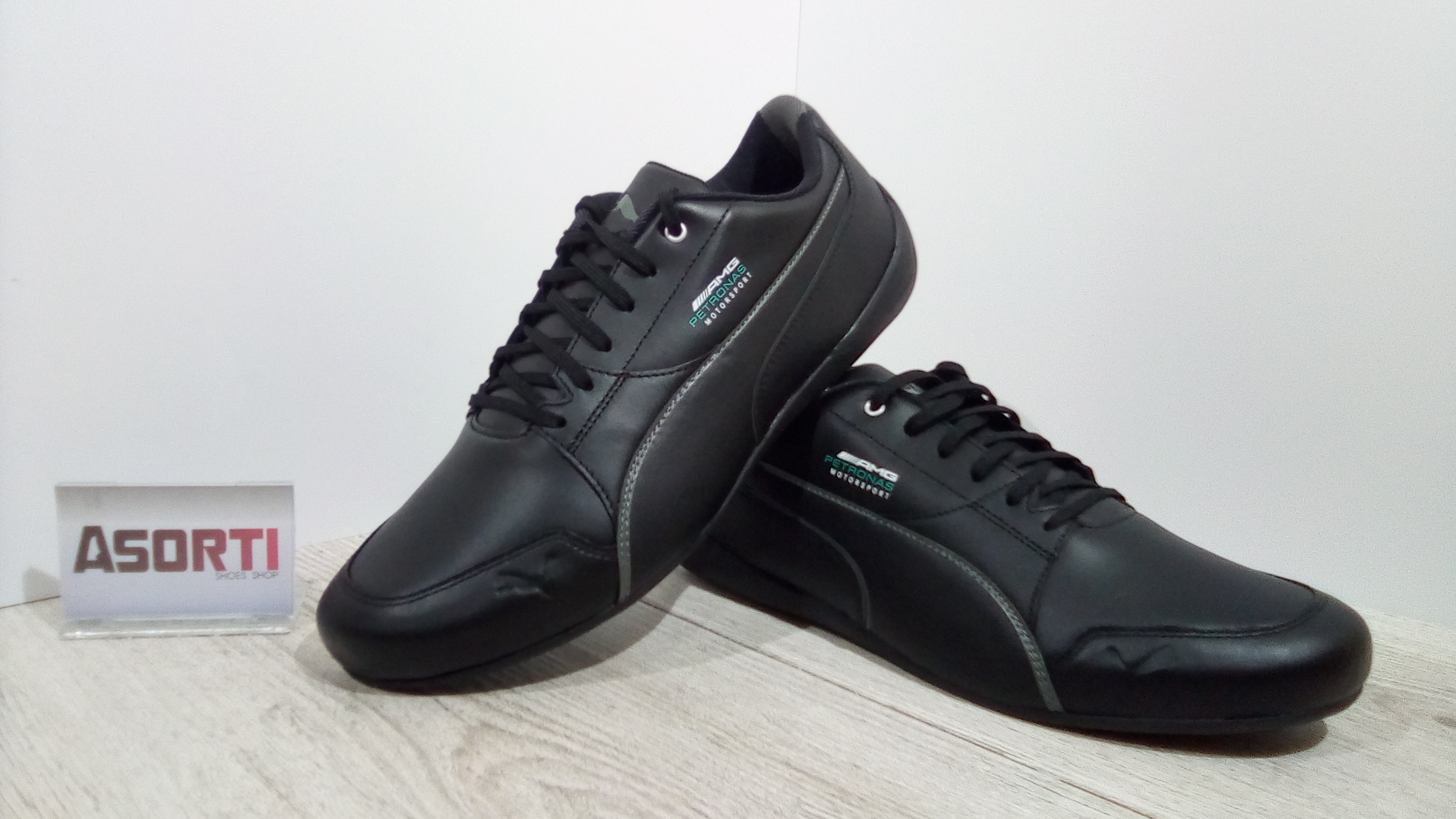 751263b1 Мужские кроссовки Puma Mercedes Motorsport Drift Cat 7 (306150-02) черные