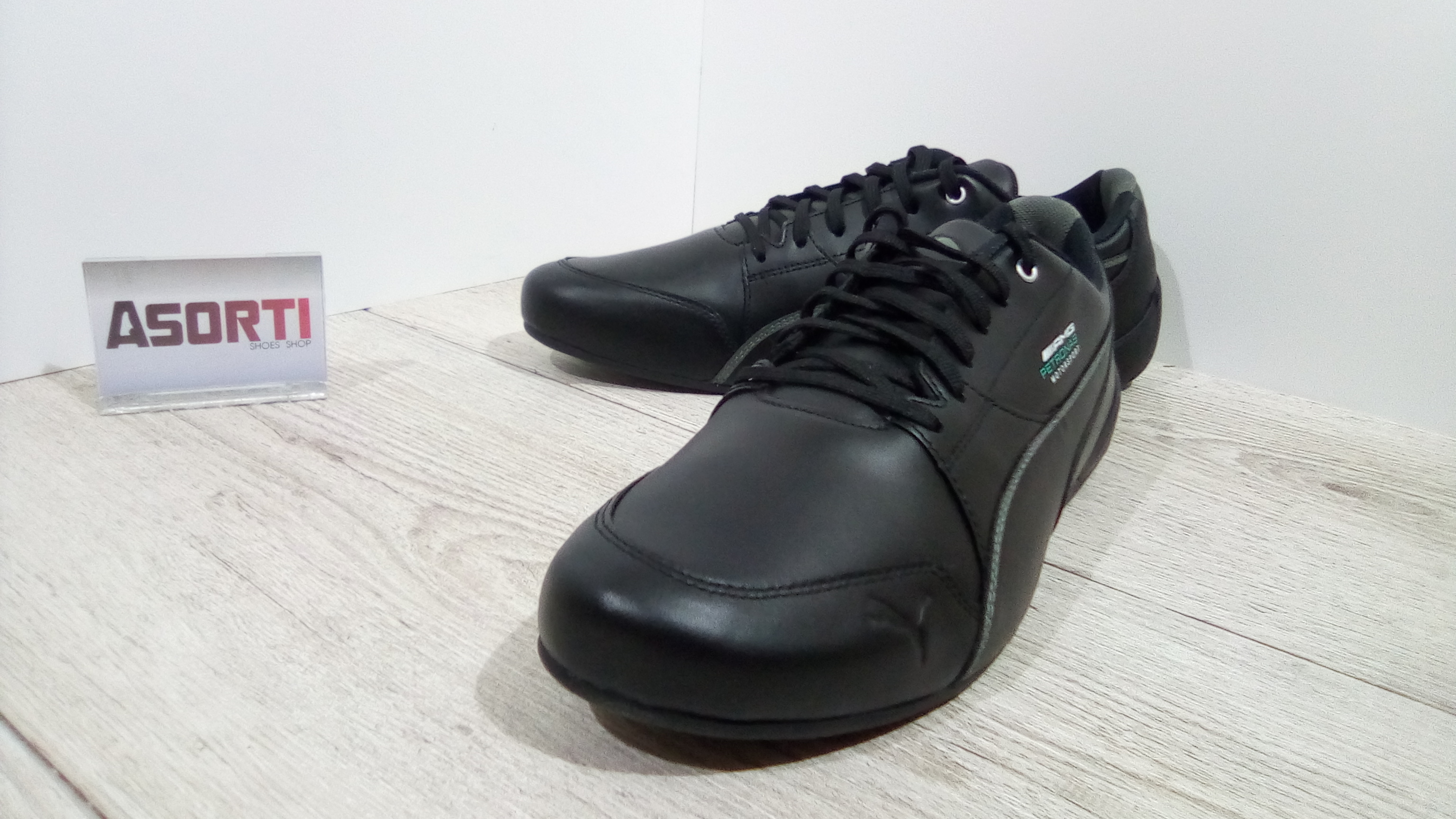 090ac154 ... Мужские кроссовки Puma Mercedes Motorsport Drift Cat 7 (306150-02)  черные ...