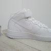 Мужские кроссовки Nike Air Force 1 Mid White (315123-111) белые