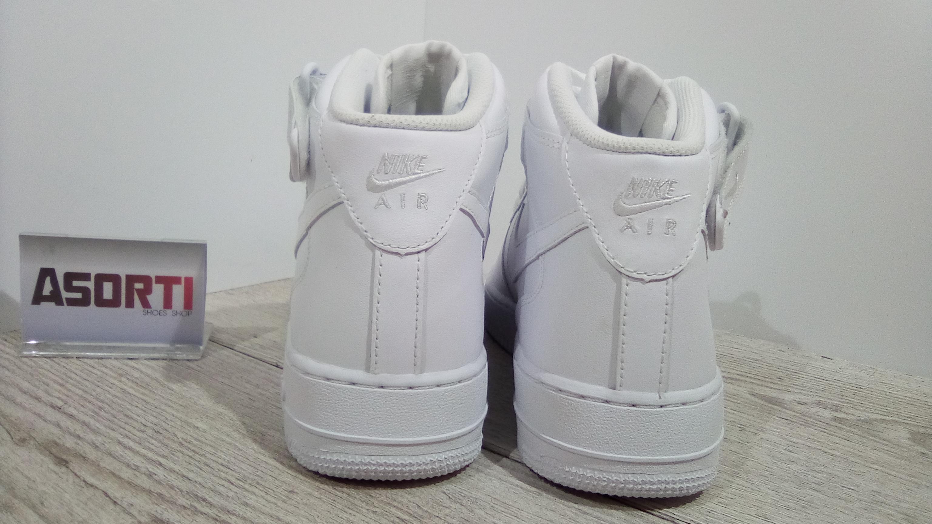 eaa4b2d034d466 Мужские кроссовки Nike Air Force 1 Mid White (315123-111) белые ...
