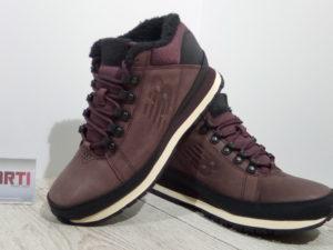 Мужские зимние ботинки New Balance (HL754BB) коричневые
