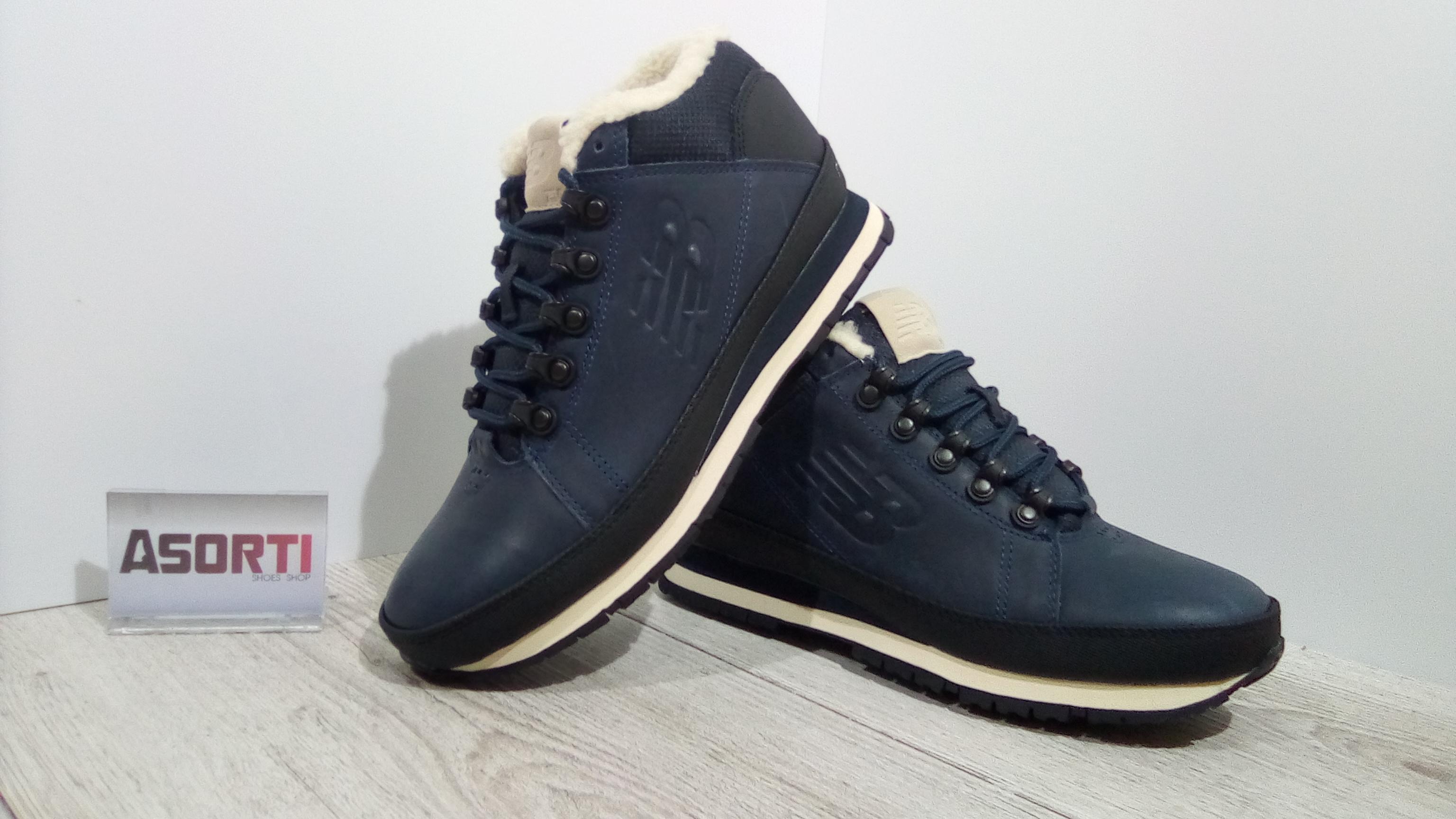 b652549d90f5 Мужские зимние ботинки New Balance (HL754FN) синие купить в Украине ...