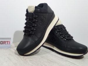 Мужские демисезонные кроссовки New Balance (HL754NN) черные