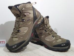 Мужские треккинговые ботинки Salomon Comet 3D GTX (112107) бежевые